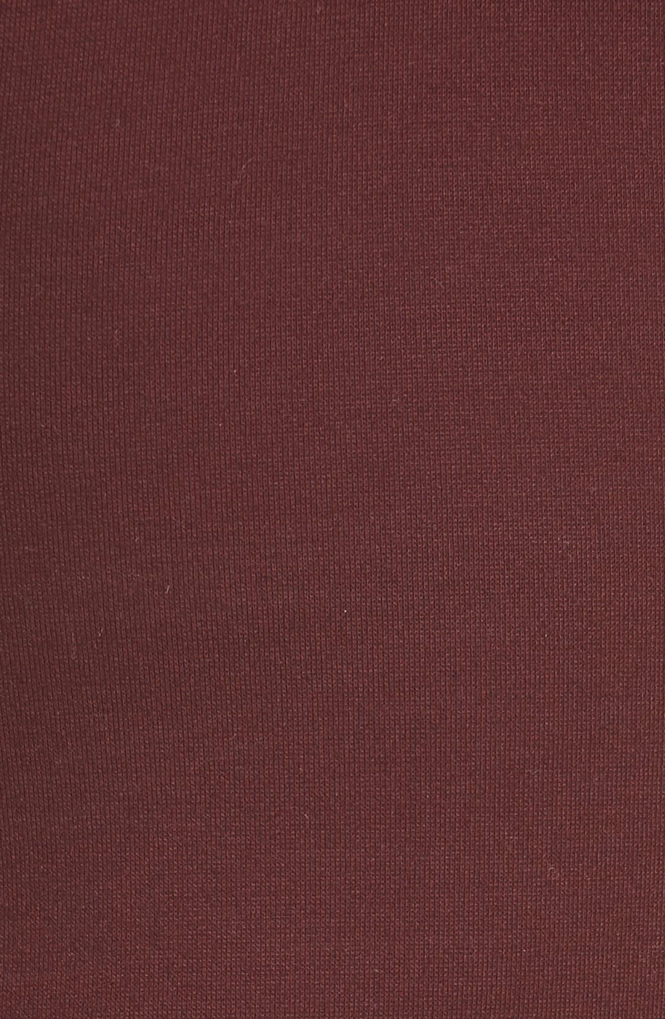 Jersey Turtleneck Bodysuit,                             Alternate thumbnail 5, color,                             930