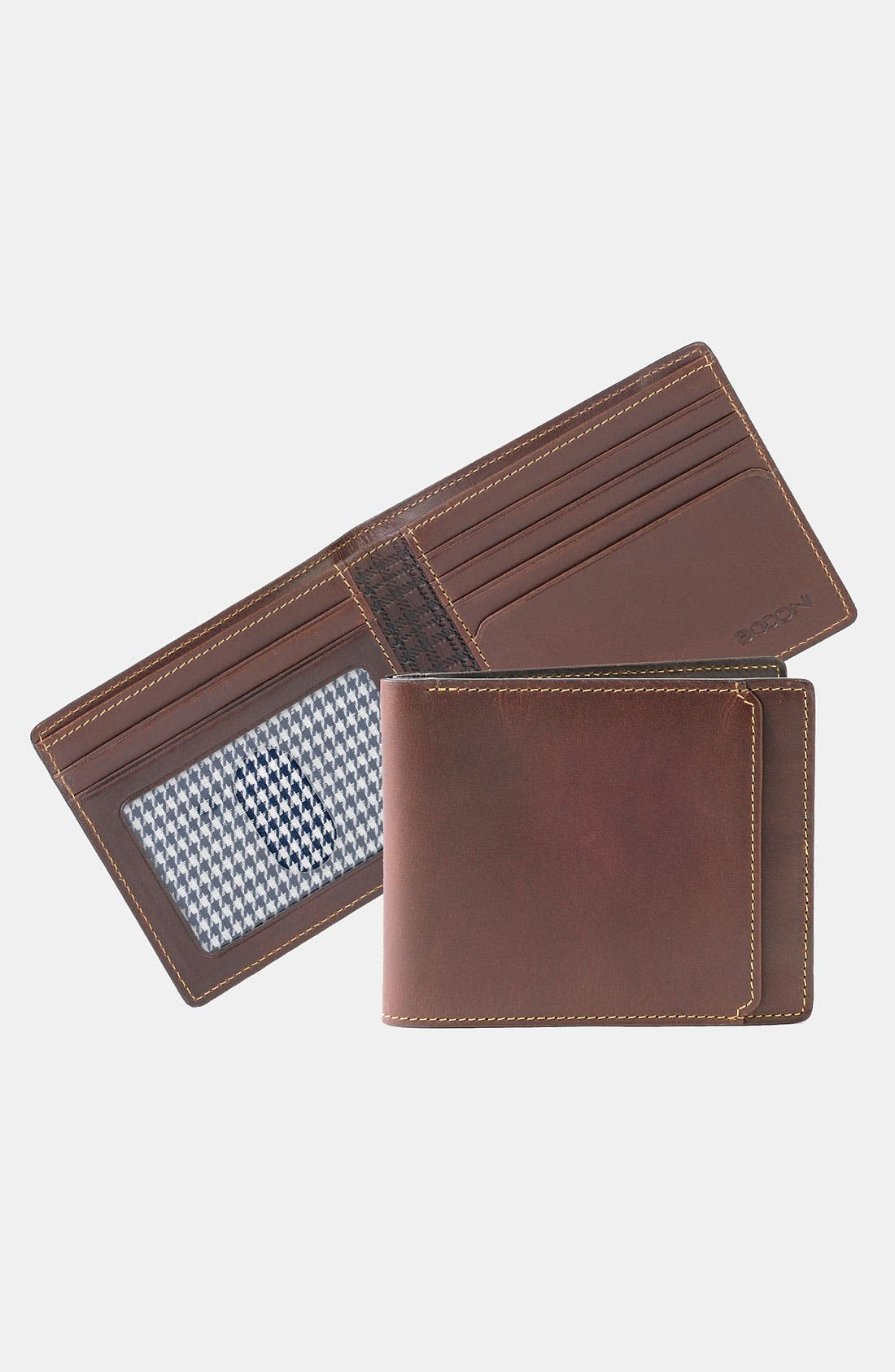 'Bryant' RFID Blocker Slimfold Wallet,                             Alternate thumbnail 3, color,                             ANTIQUE MAHOGANY