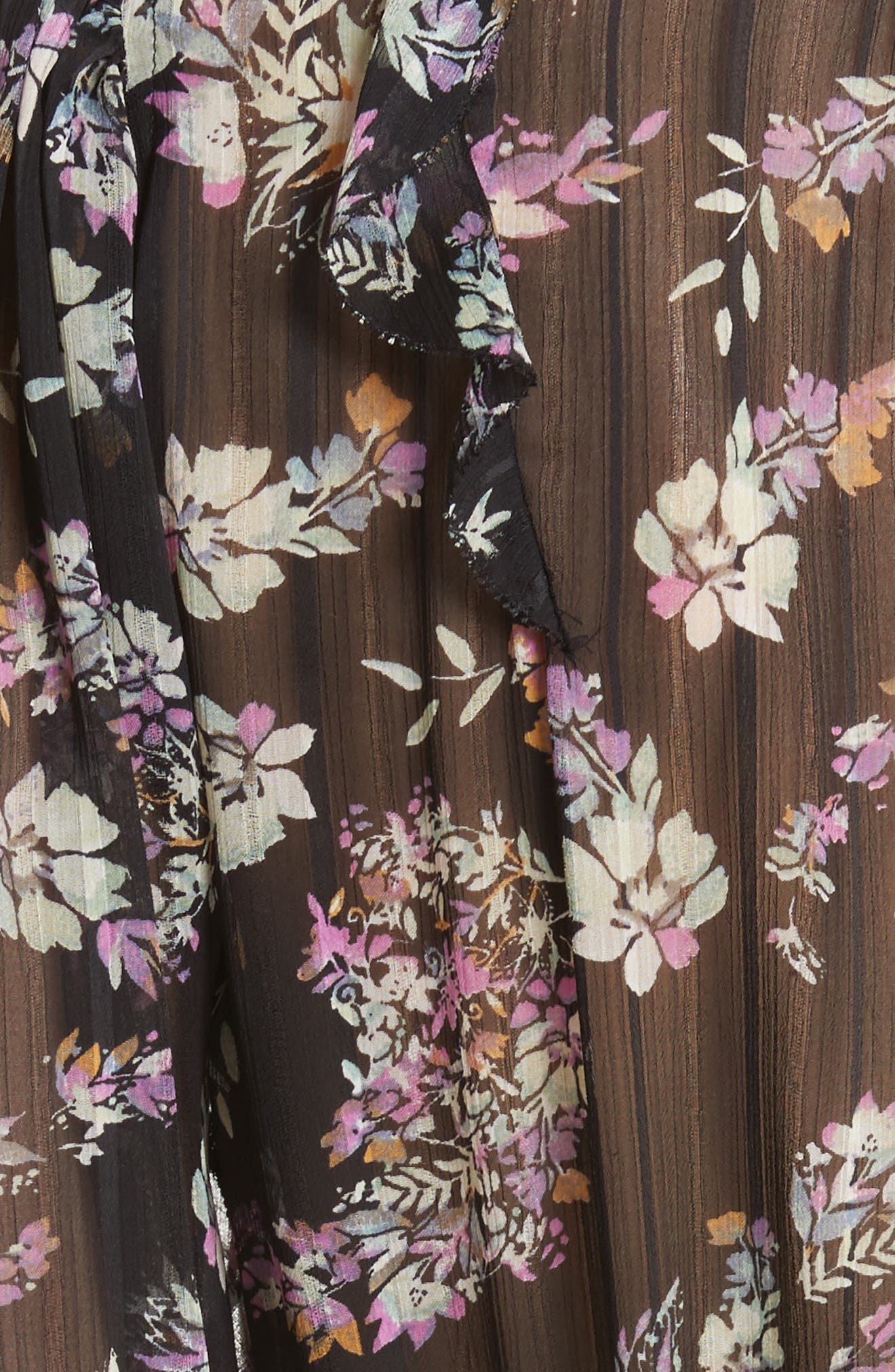 Jewel Paisley Dress,                             Alternate thumbnail 5, color,                             014