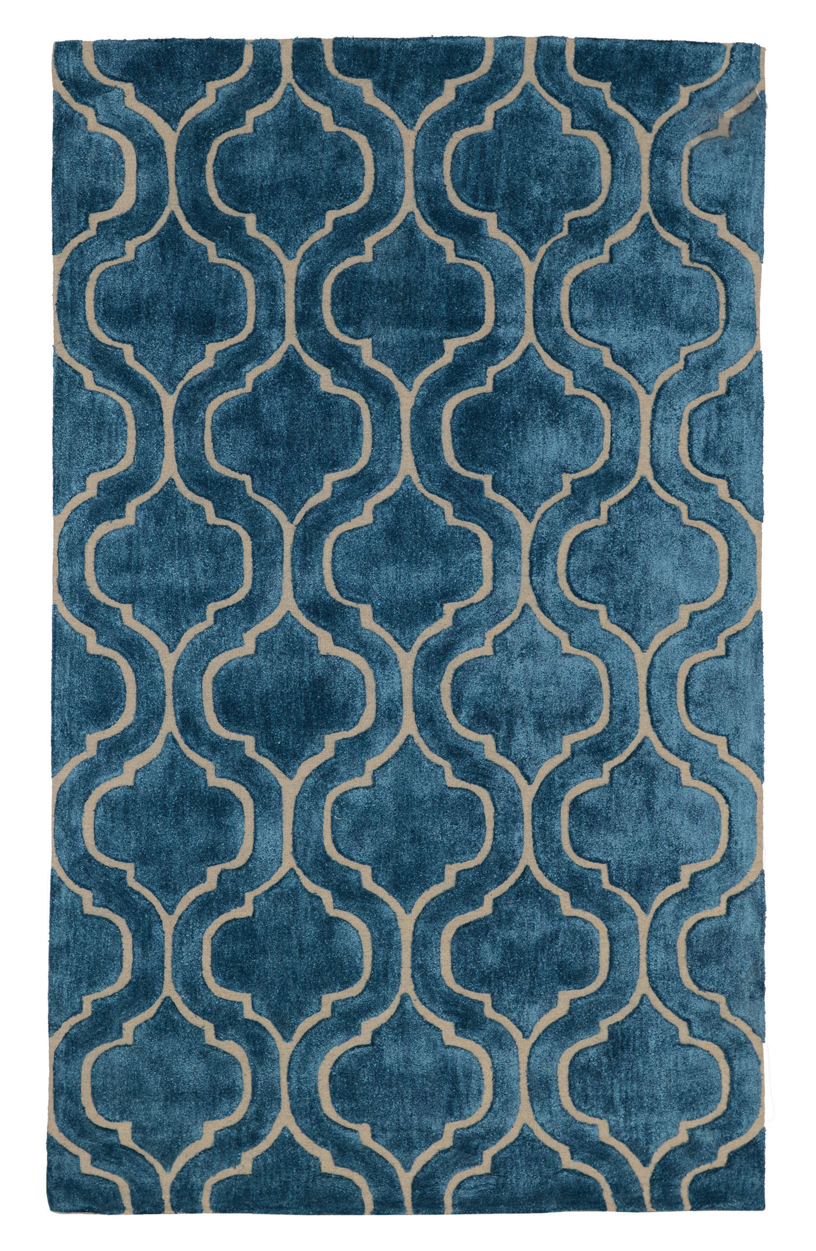 Villa Home 'Over Tufted - Blue Jay' Rug,                             Alternate thumbnail 2, color,                             400