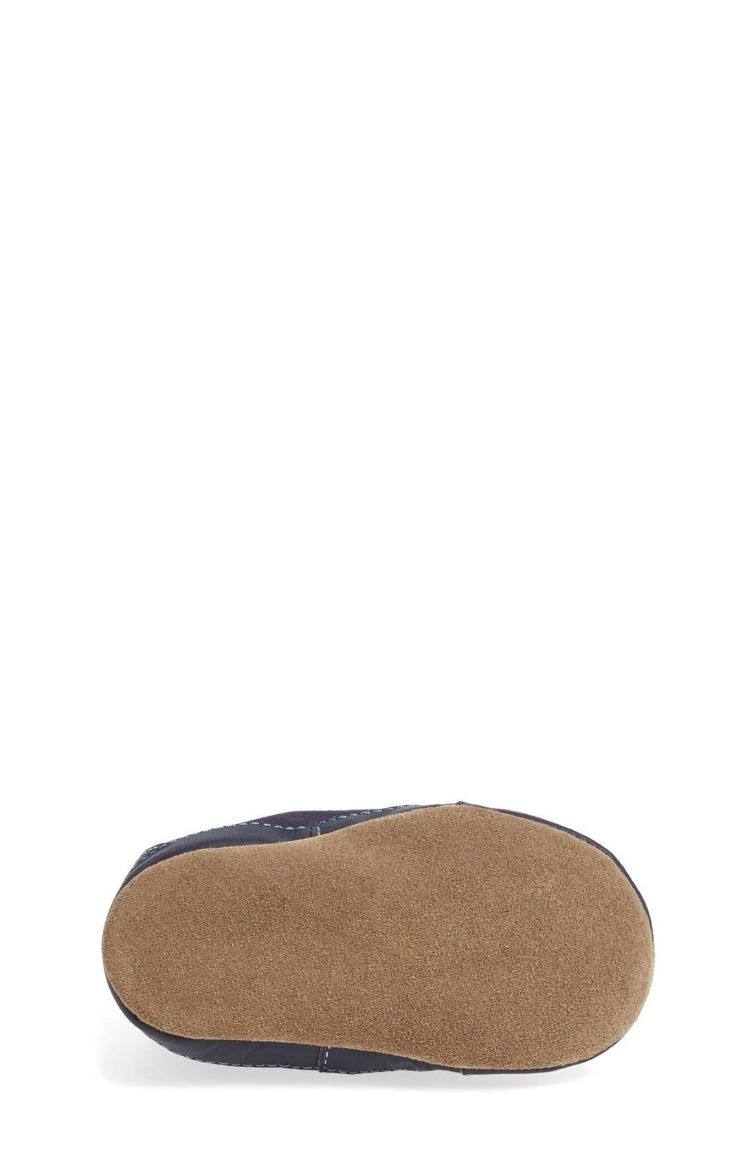 'Stylish Steve' Crib Shoe,                             Alternate thumbnail 4, color,                             NAVY