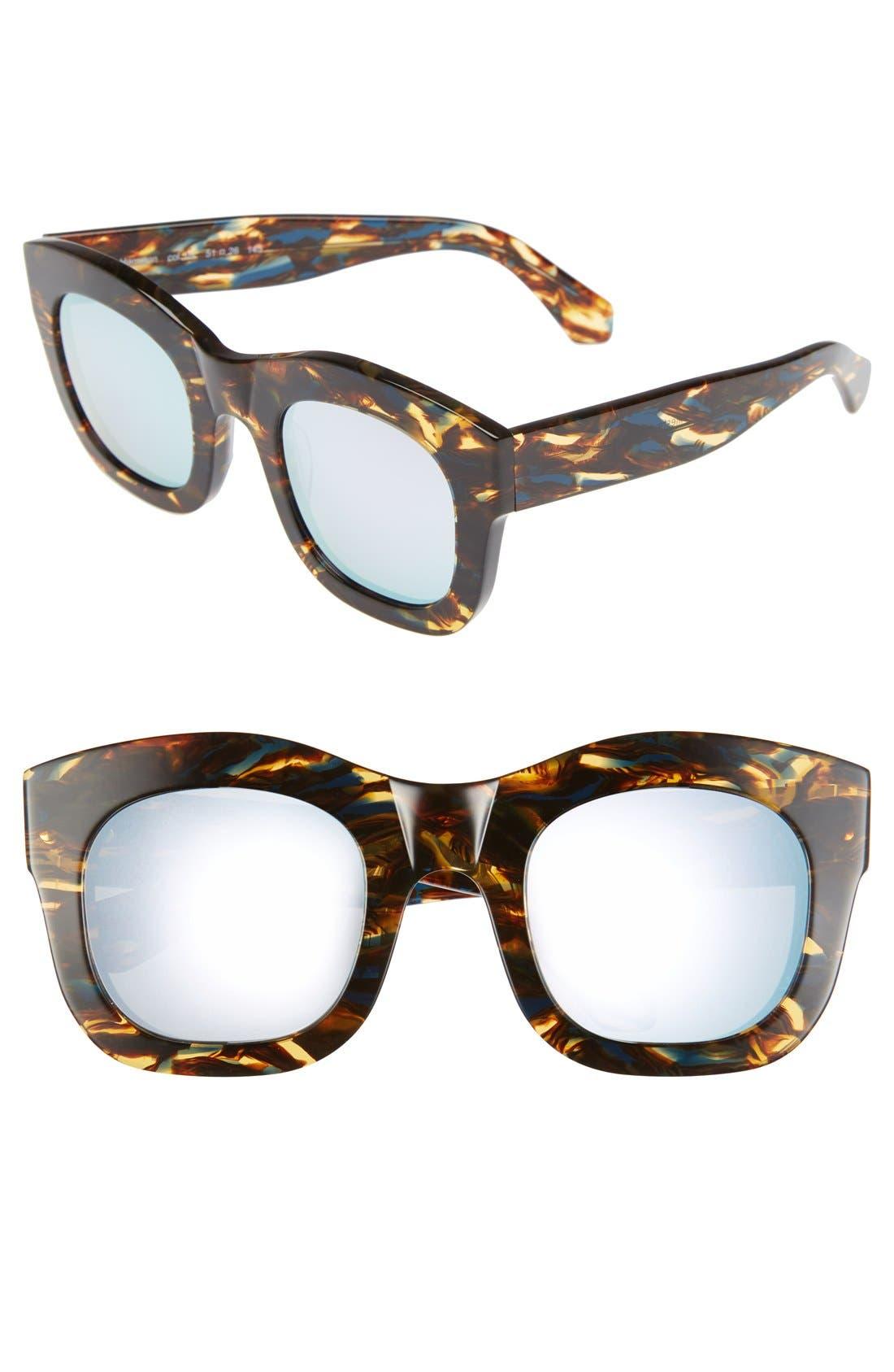 'Hamilton' 49mm Retro Sunglasses,                             Main thumbnail 8, color,