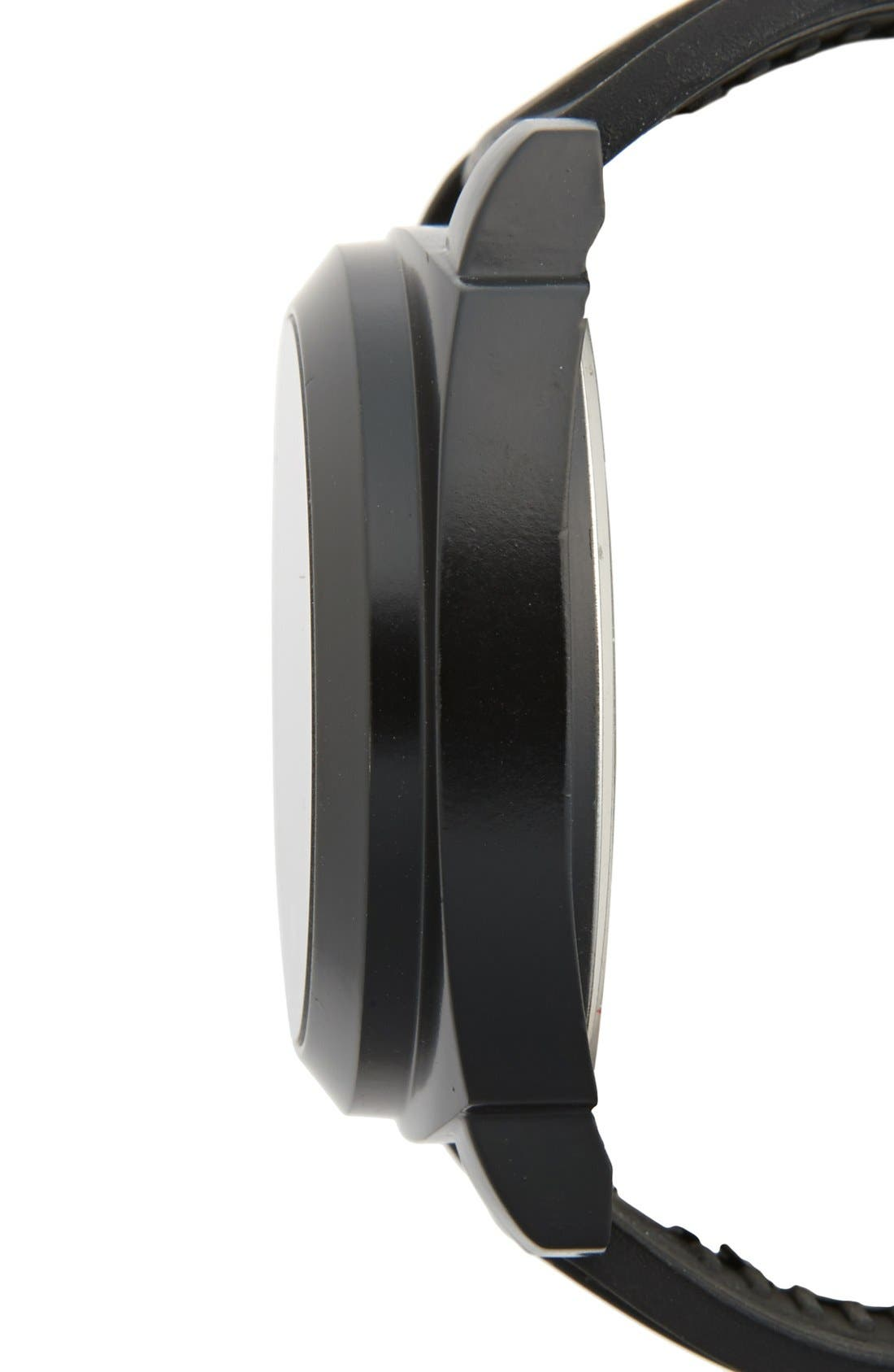 Touch LED Digital Silicone Strap Watch, 50mm,                             Alternate thumbnail 3, color,                             001