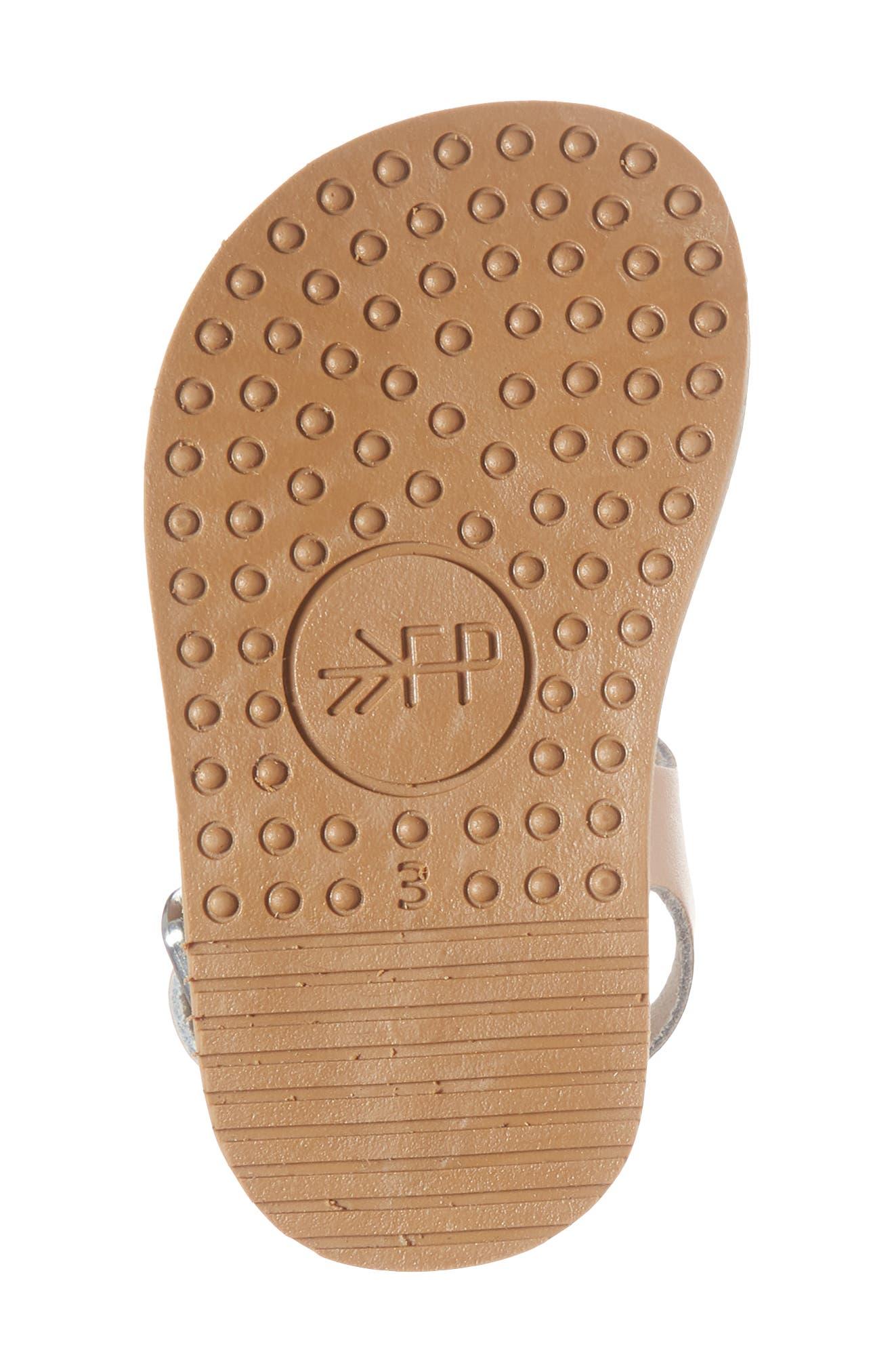 Malibu Water Resistant Sandal,                             Alternate thumbnail 6, color,                             ROSE GOLD