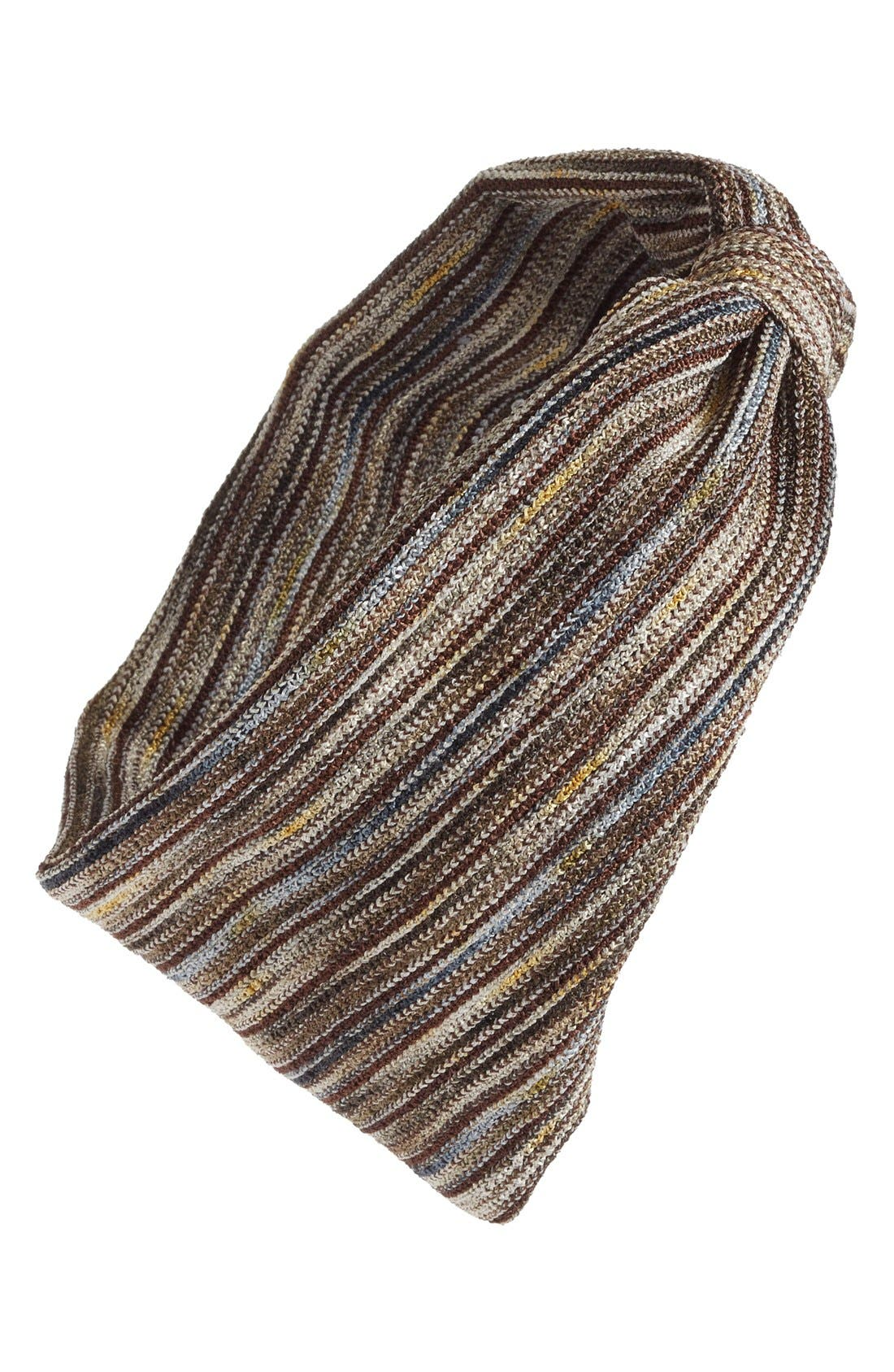 Stripe Knot Head Wrap,                             Main thumbnail 3, color,