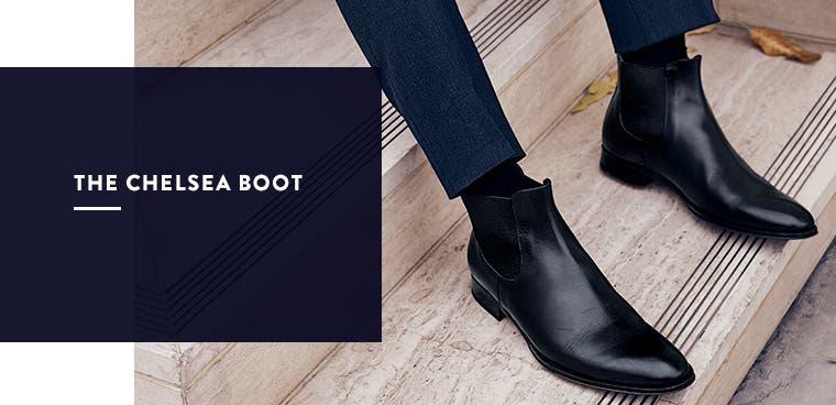 Men's chelsea boot.