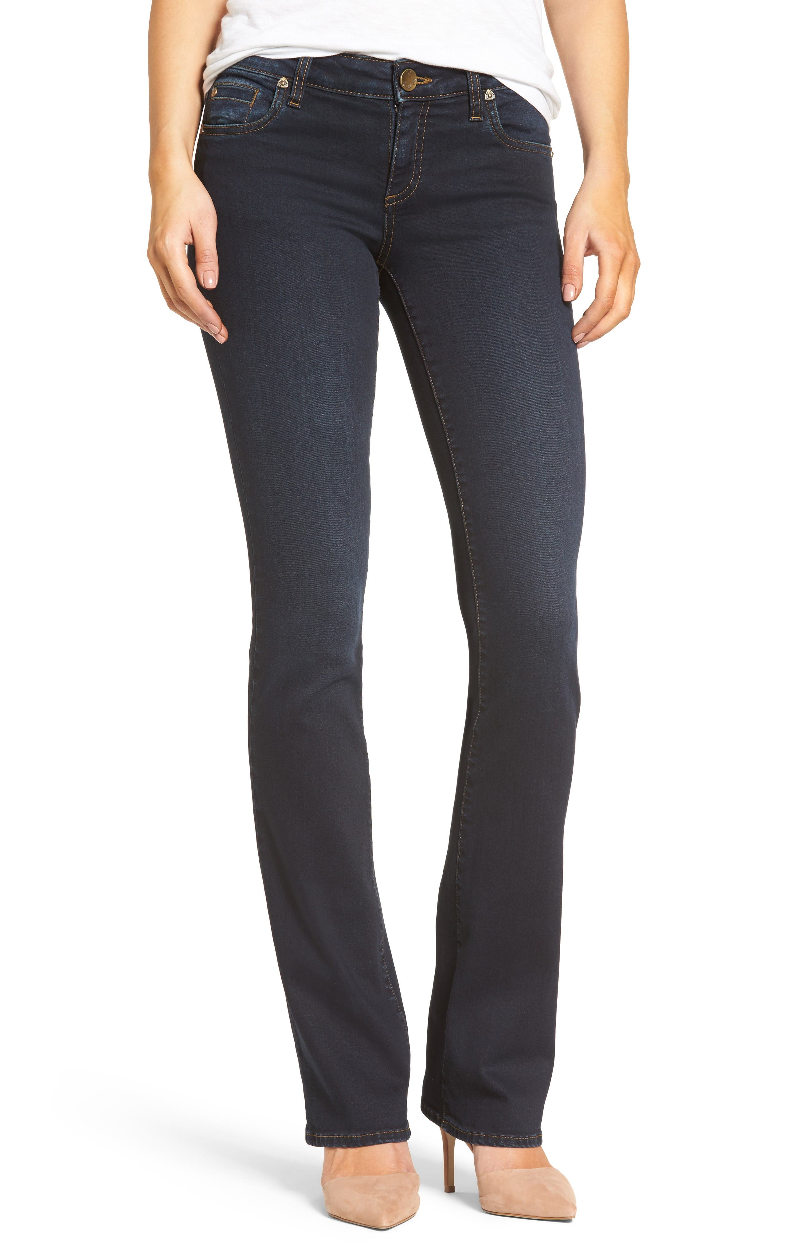 Natalie Stretch Bootleg Jeans,                         Main,                         color, 475