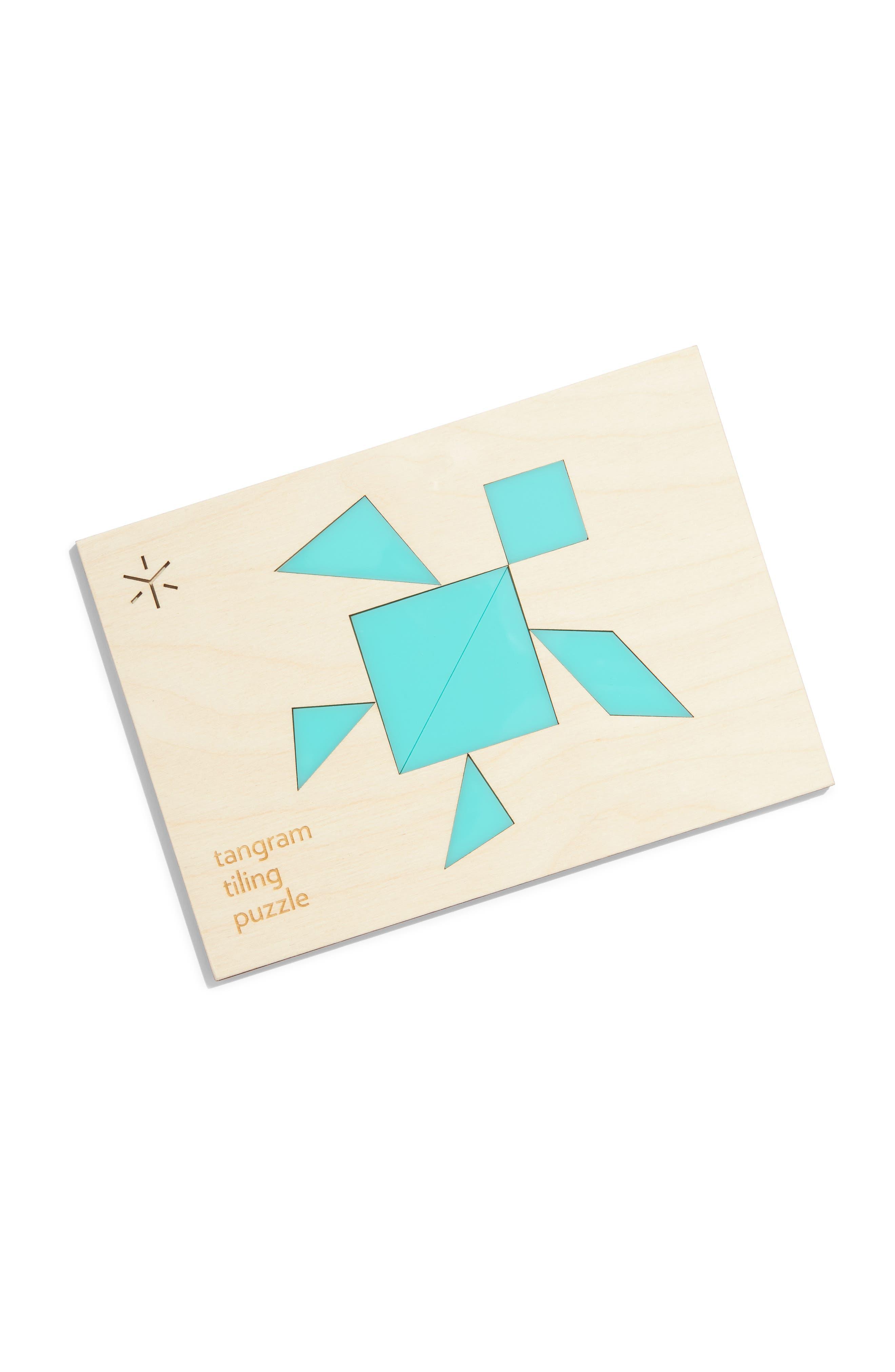 Tiling Puzzle,                             Main thumbnail 1, color,                             BLUE TURTLE