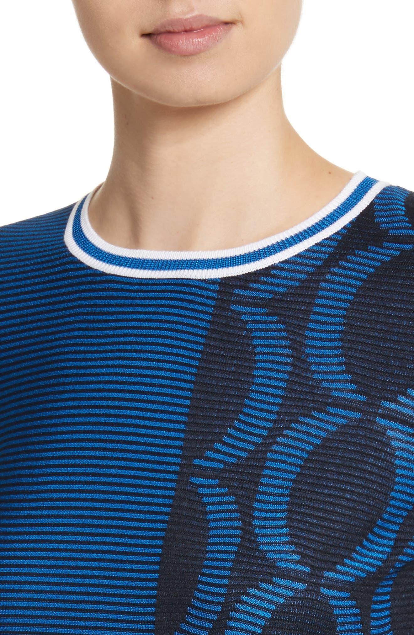 Jacquard Knit Sweater,                             Alternate thumbnail 4, color,                             410