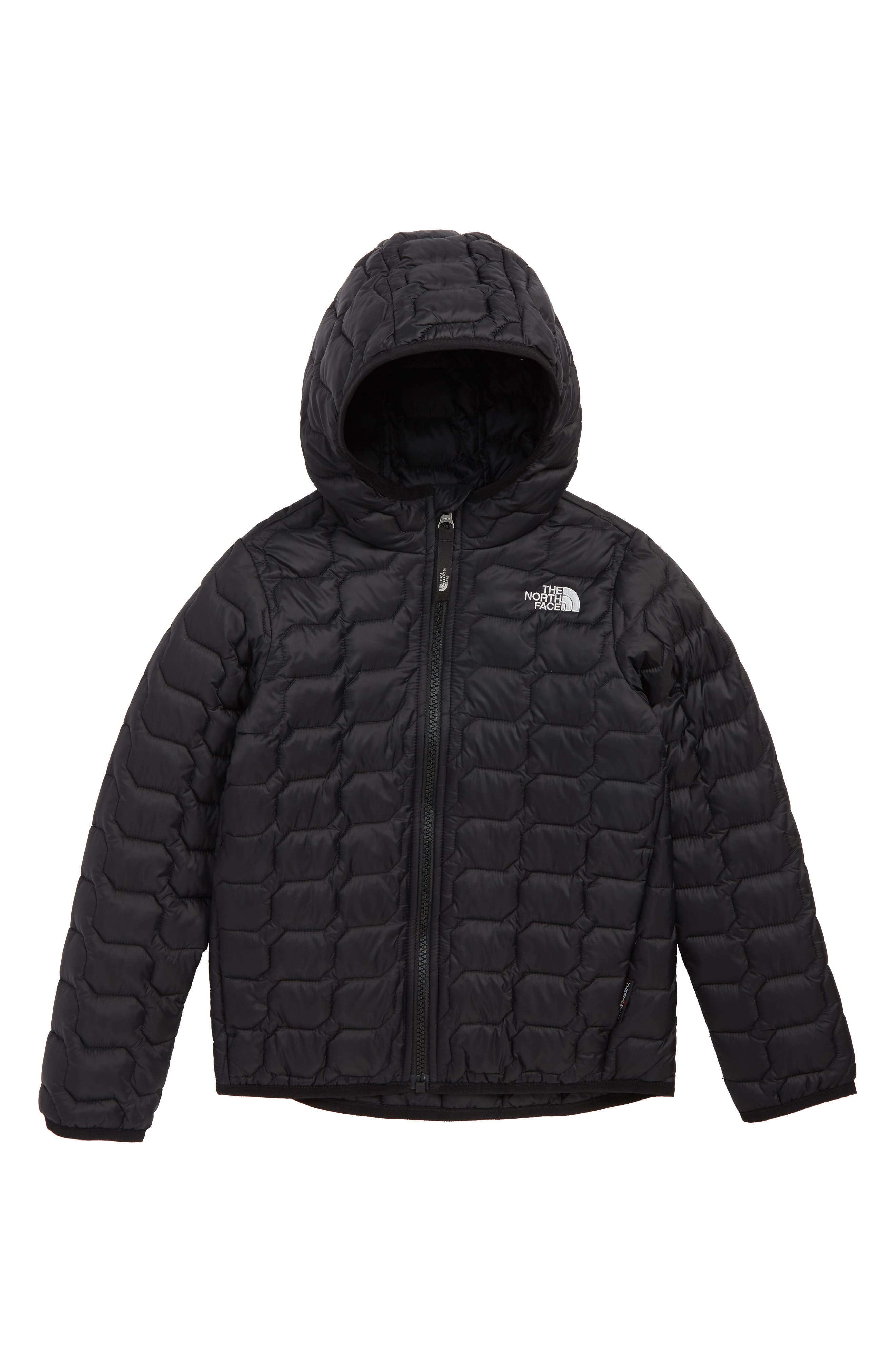 Boys The North Face Thermoball(TM) Hooded Jacket Size 6  Black