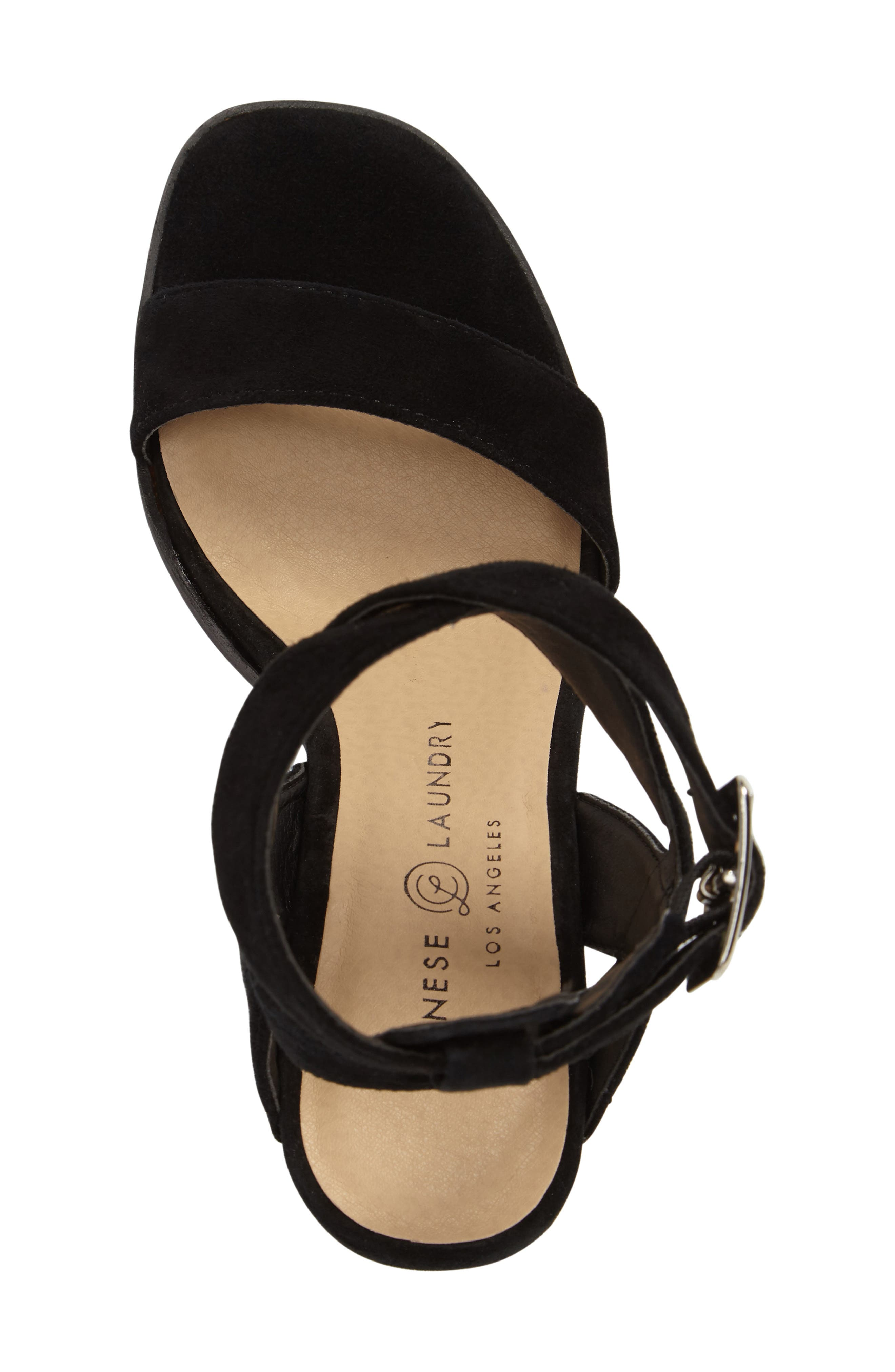 Sitara Ankle Strap Sandal,                             Alternate thumbnail 5, color,                             001