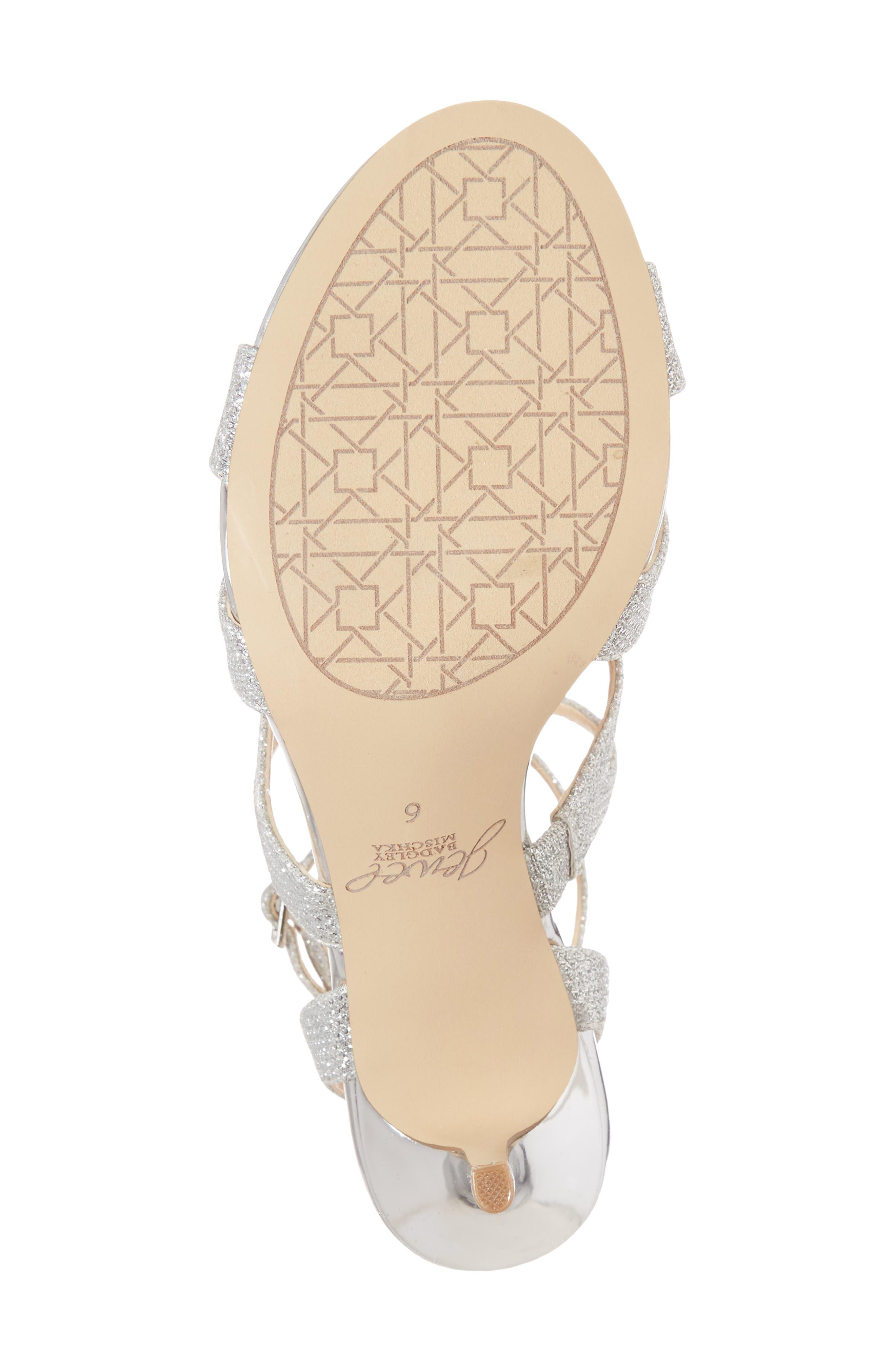 Tasha Glitter Sandal,                             Alternate thumbnail 6, color,                             043