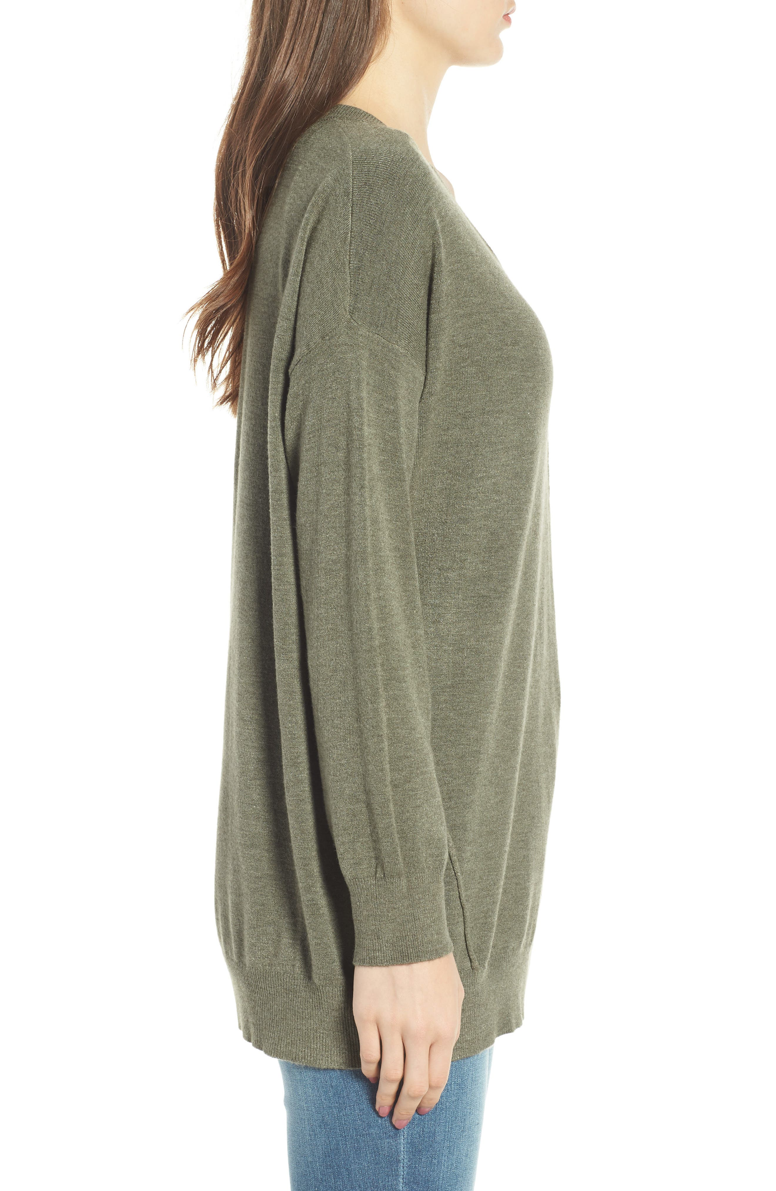 Exposed Seam Sweater,                             Alternate thumbnail 14, color,
