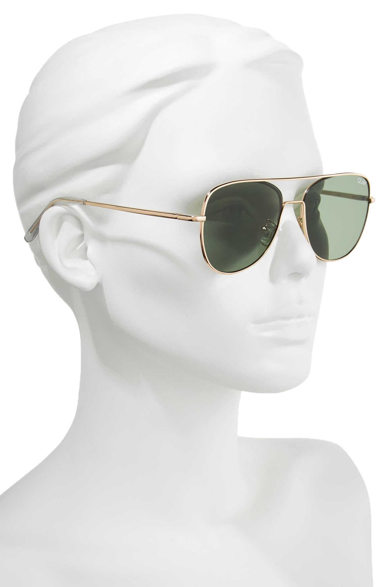 'Running Riot' 58mm Aviator Sunglasses,                             Alternate thumbnail 2, color,                             711