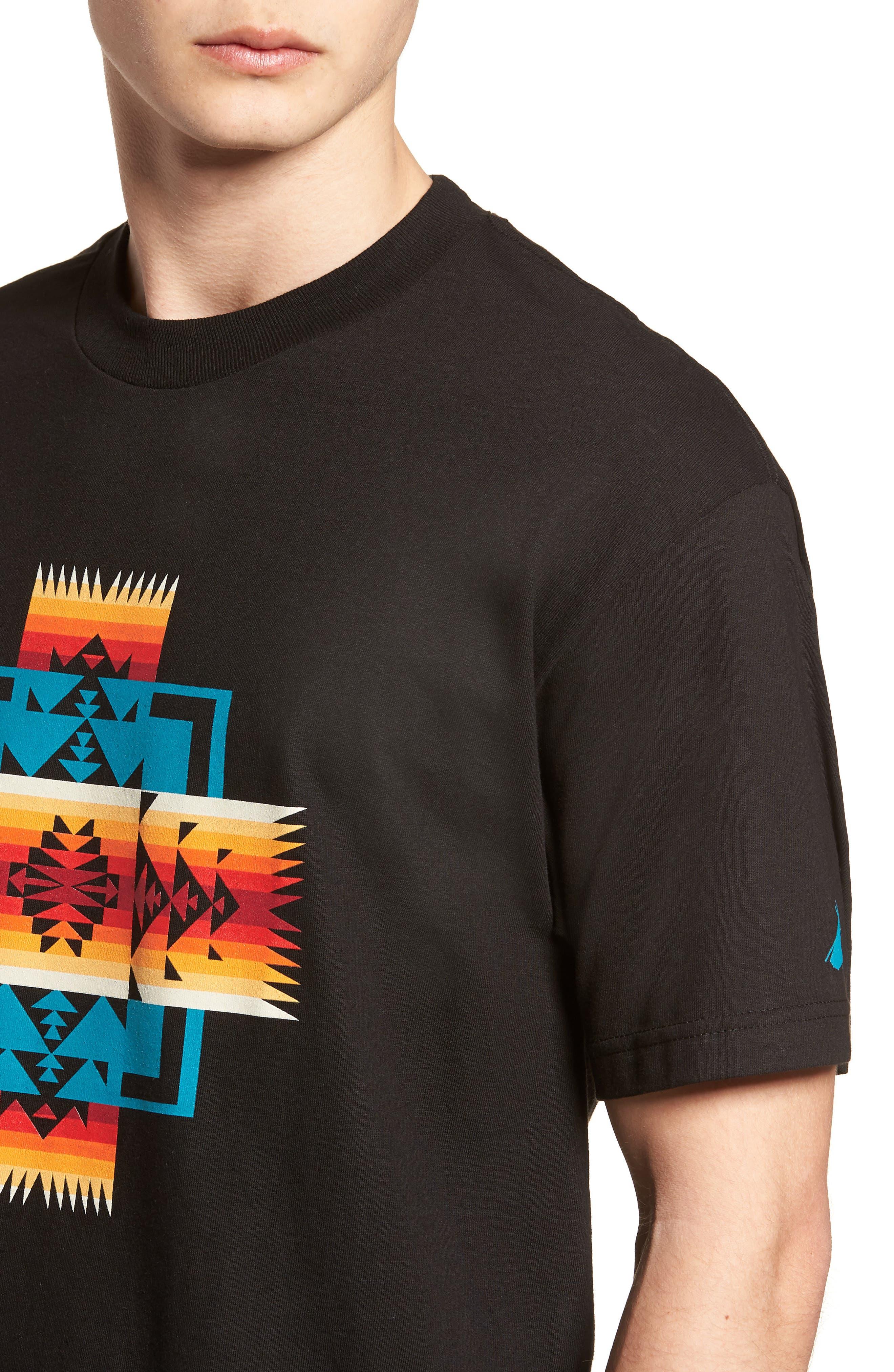 Graphic T-Shirt,                             Alternate thumbnail 4, color,                             001