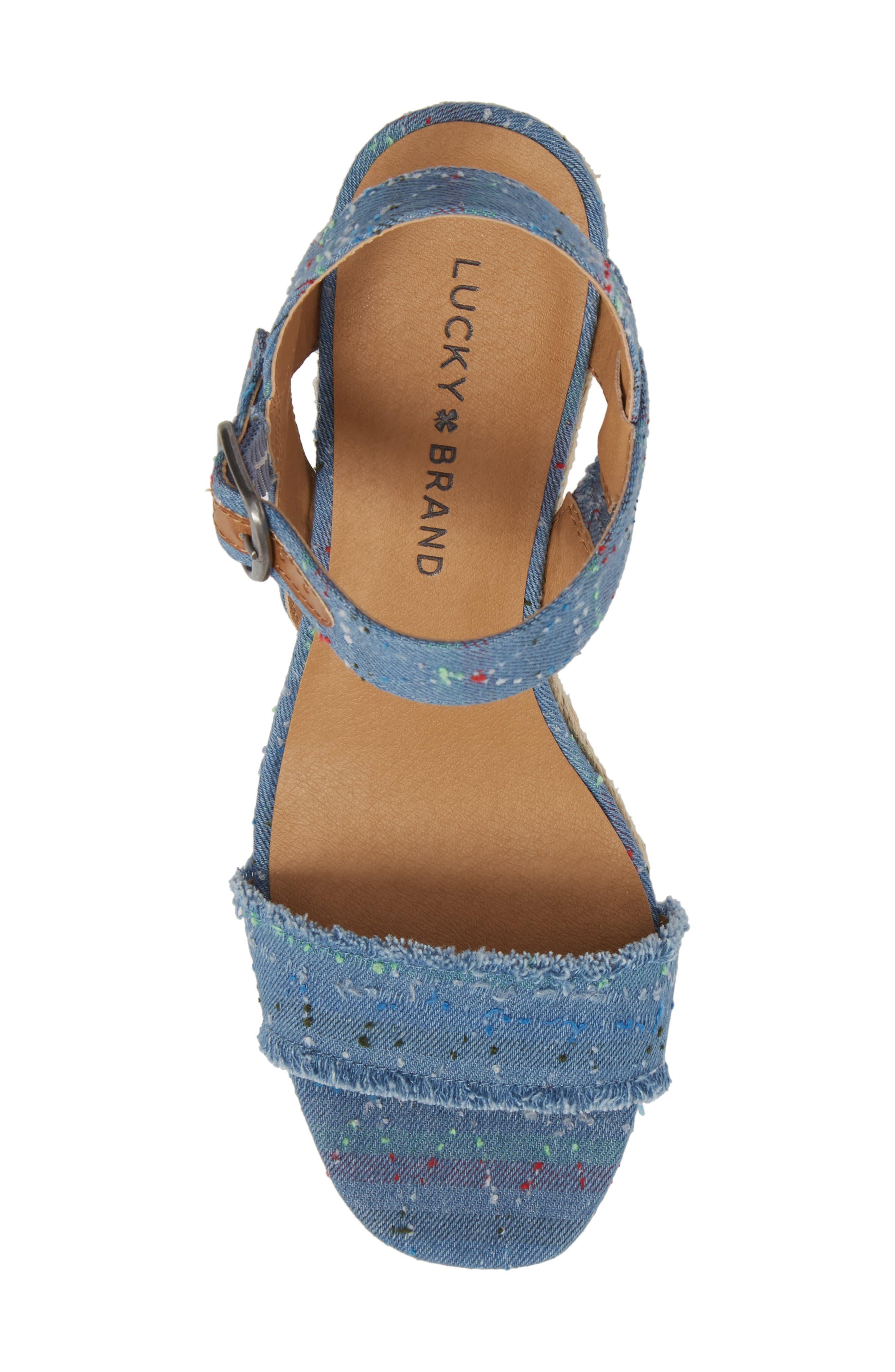Marceline Squared Toe Wedge Sandal,                             Alternate thumbnail 33, color,