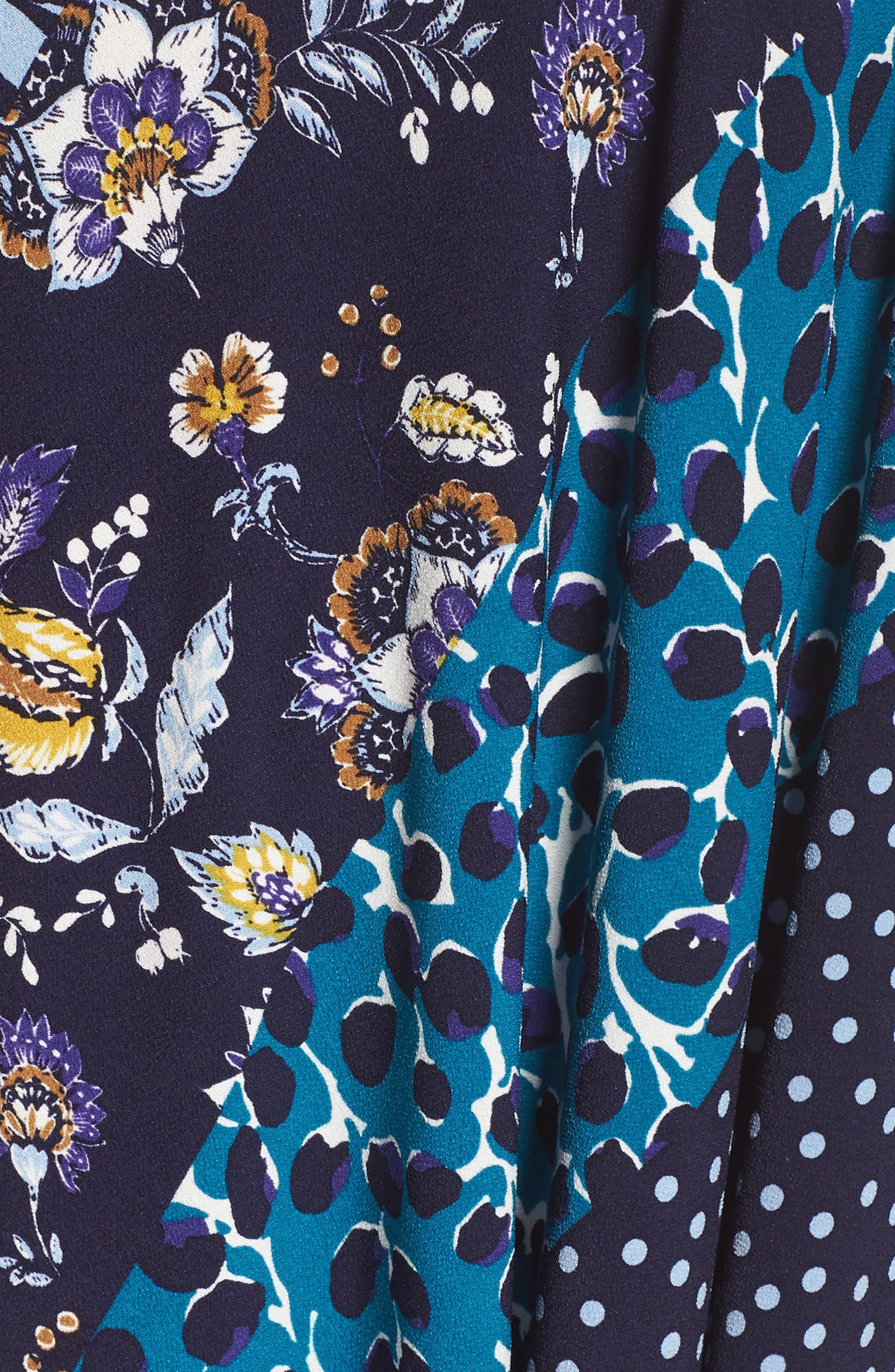Wrap Dress,                             Alternate thumbnail 6, color,                             MONTAGE