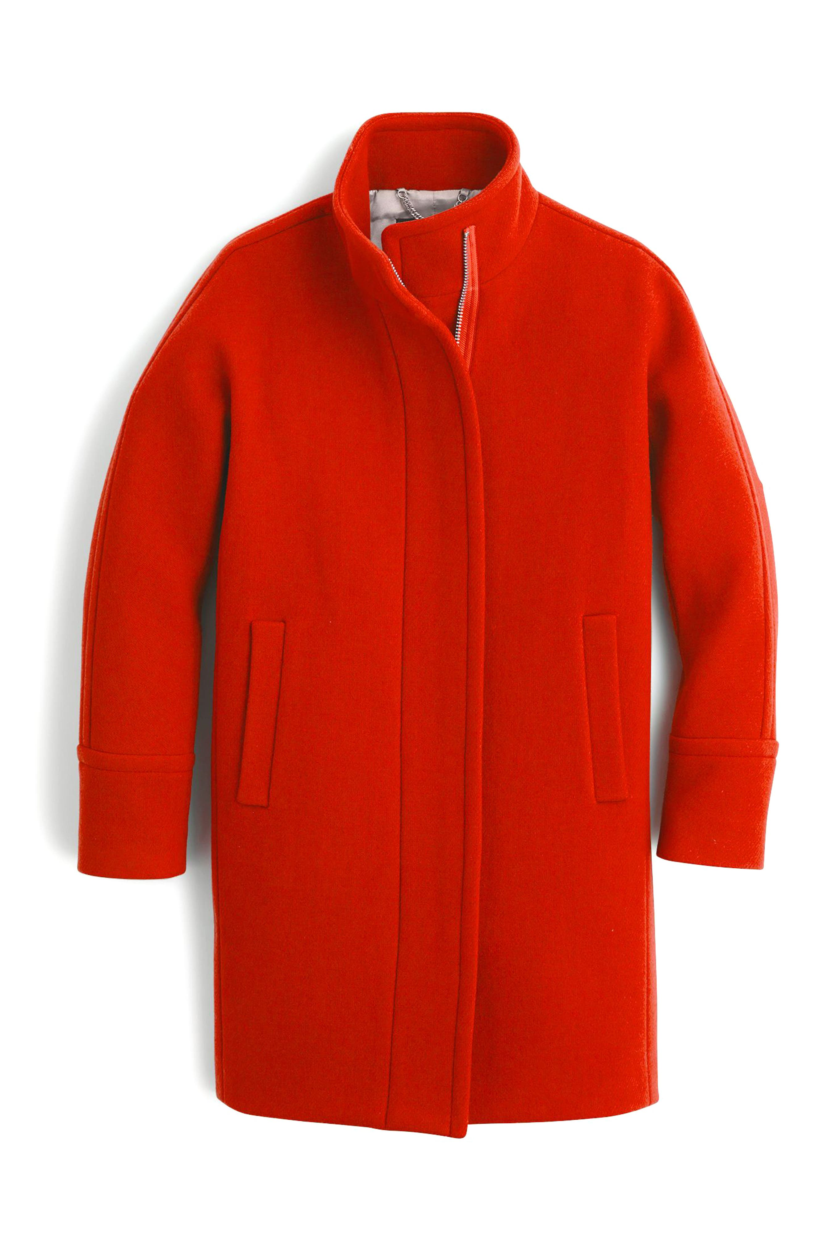 Stadium Cloth Cocoon Coat,                             Main thumbnail 21, color,