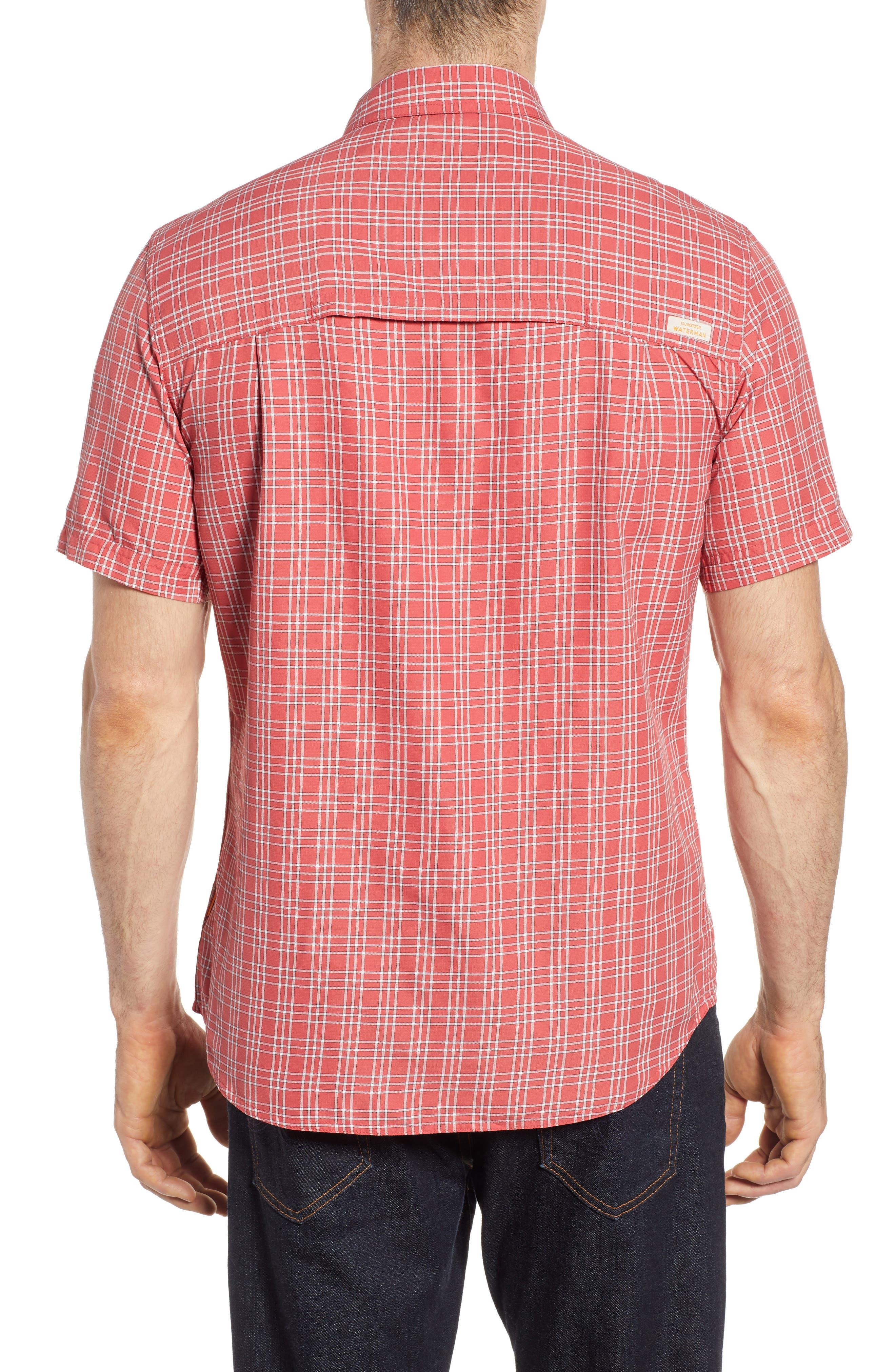 Wake Plaid Regular Fit Performance Sport Shirt,                             Alternate thumbnail 2, color,                             600