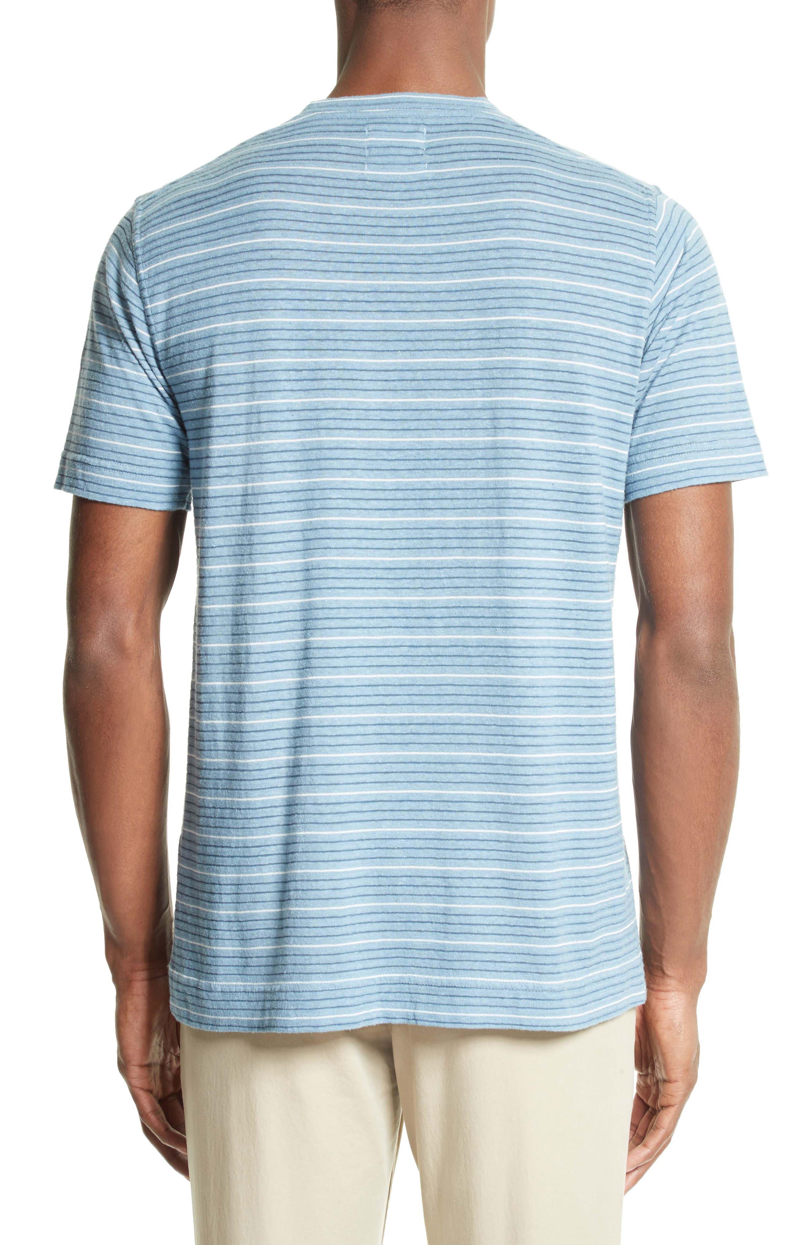 Stripe T-Shirt,                             Alternate thumbnail 2, color,                             100