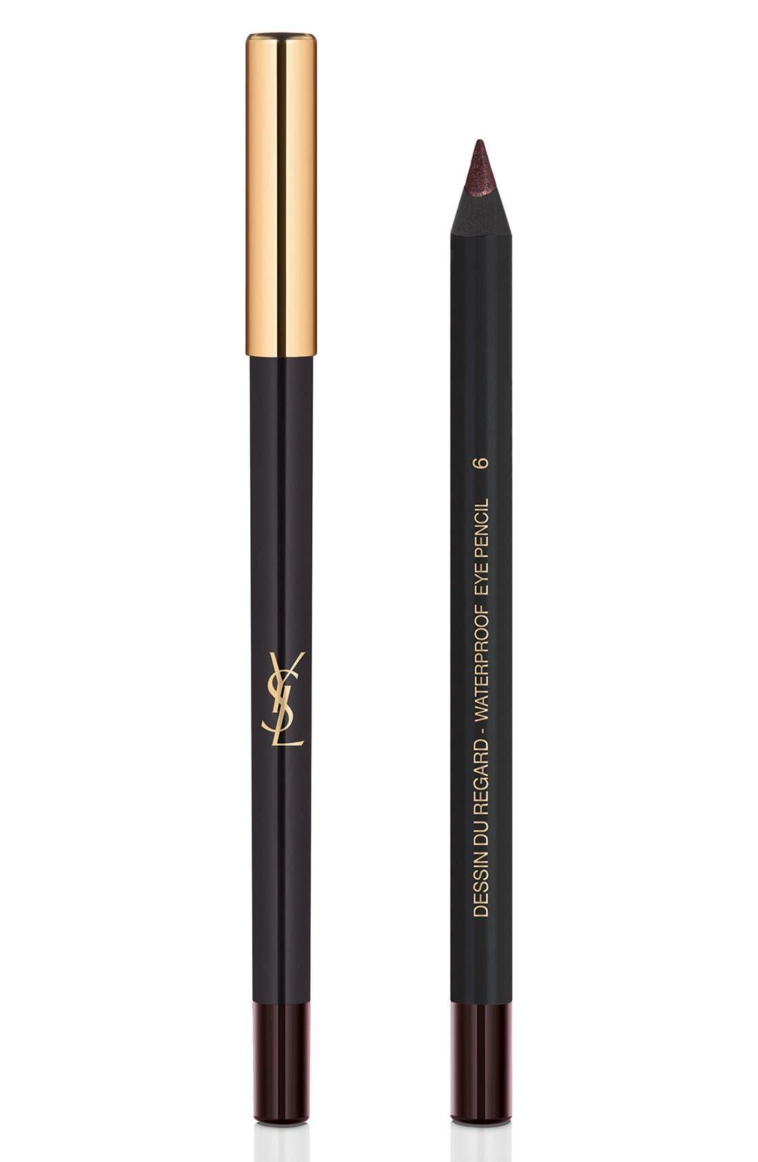 Yves Saint Laurent Dessin Du Regard Waterproof Eyeliner Pencil - 06 Burgundy