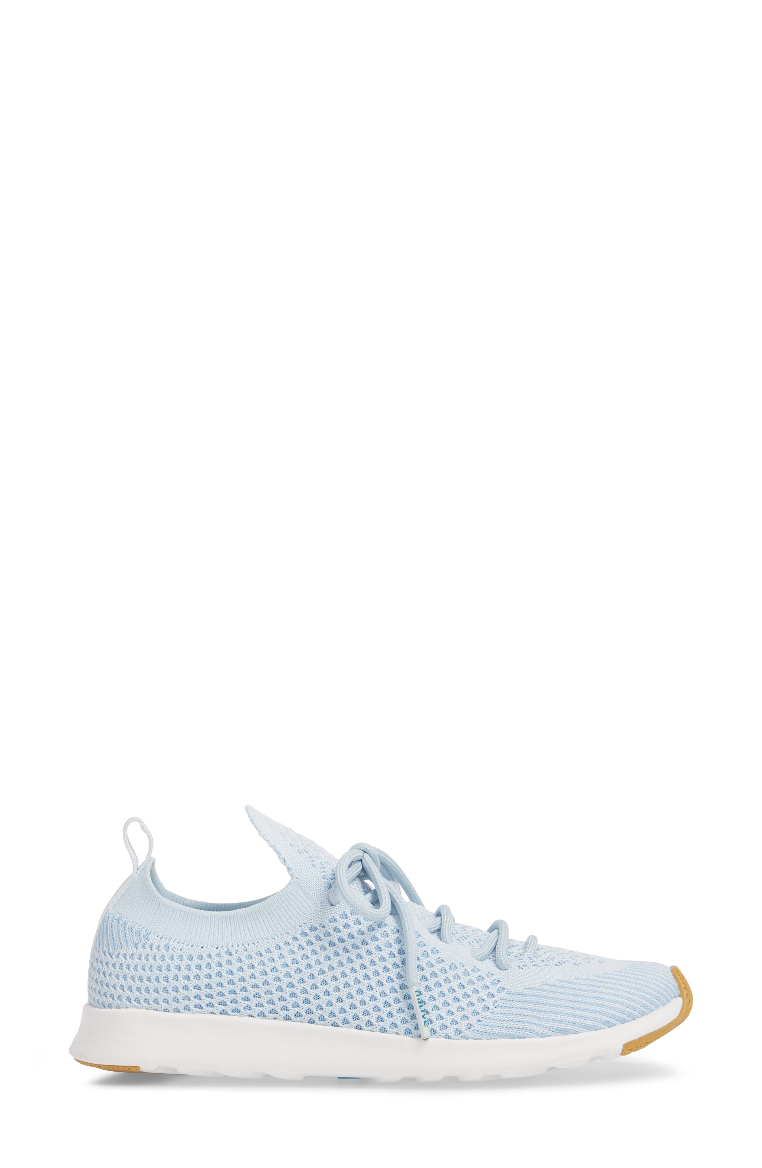 AP Mercury Liteknit Sneaker,                             Alternate thumbnail 3, color,                             AIR BLUE/ SHELL WHITE/ NATURAL