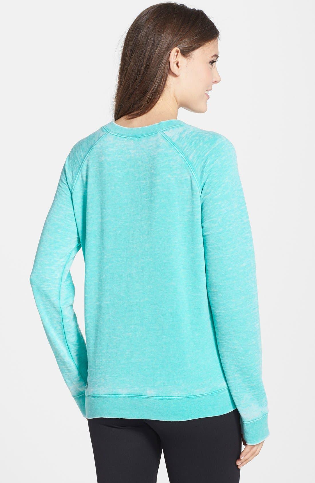 Burnout Lounge Sweatshirt,                             Alternate thumbnail 218, color,