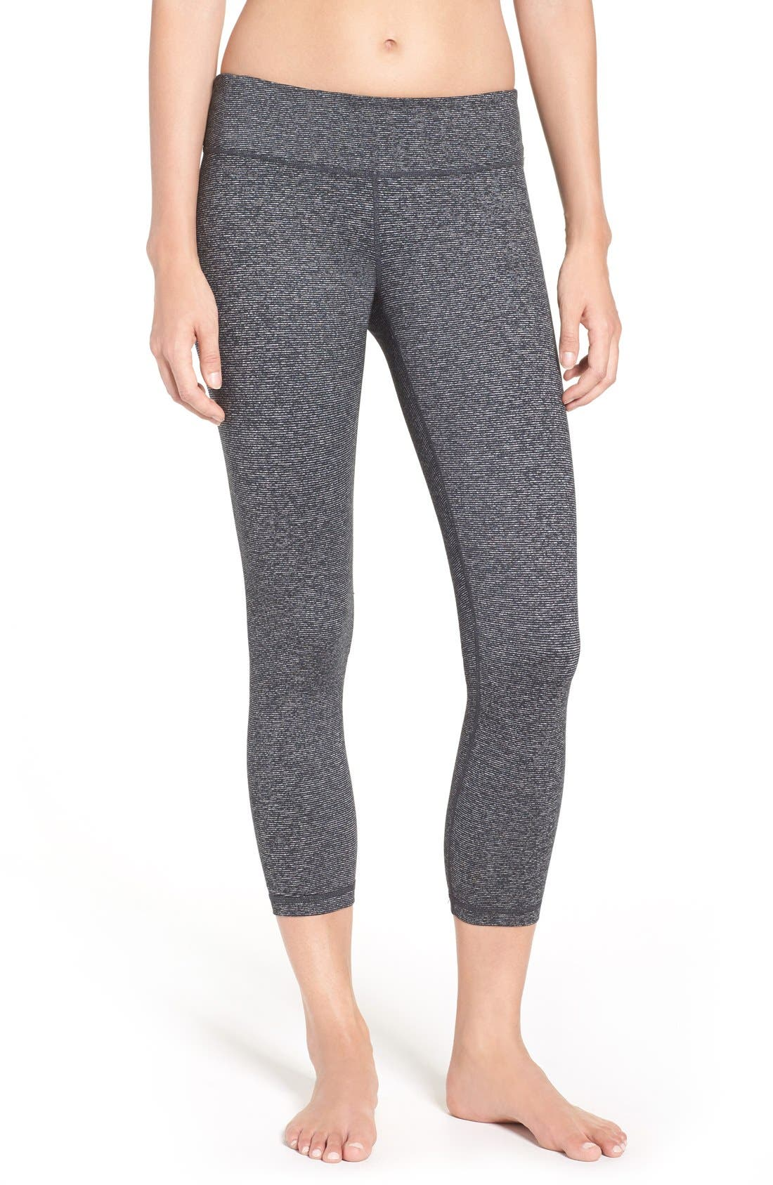 'Live In' Midi Leggings,                             Main thumbnail 1, color,                             002