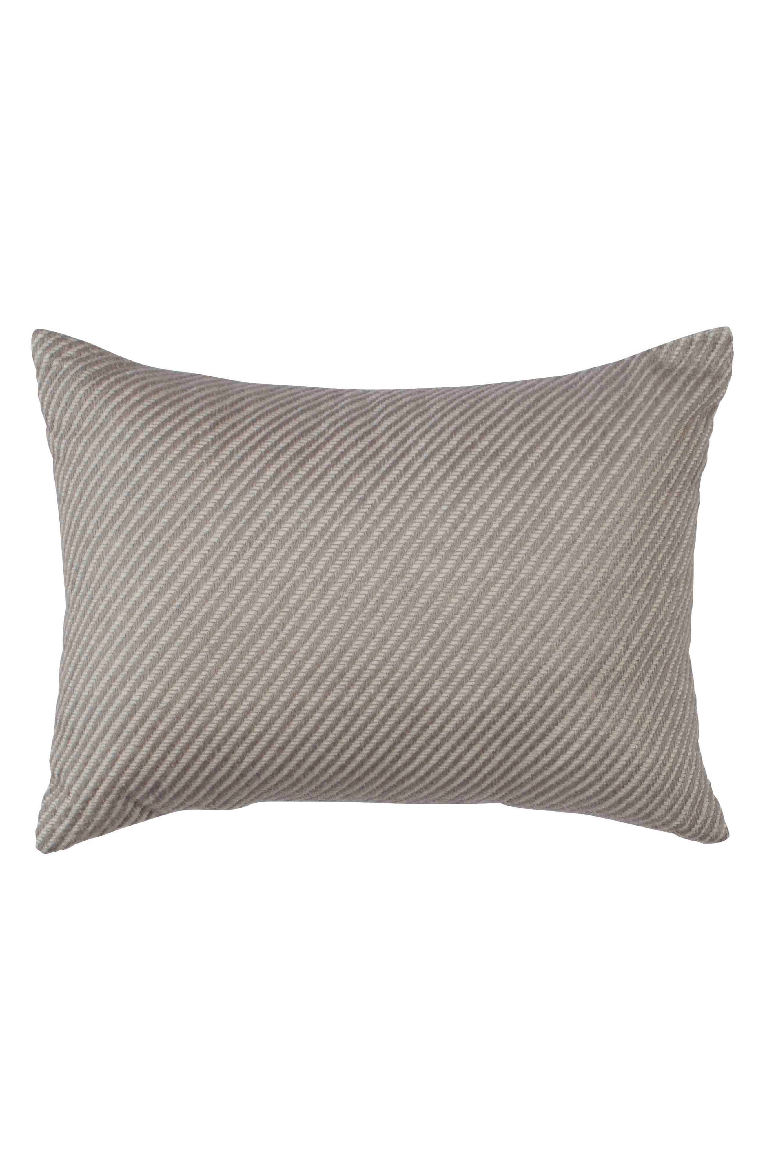 Tulare Twill Accent Pillow, Main, color, NATURAL