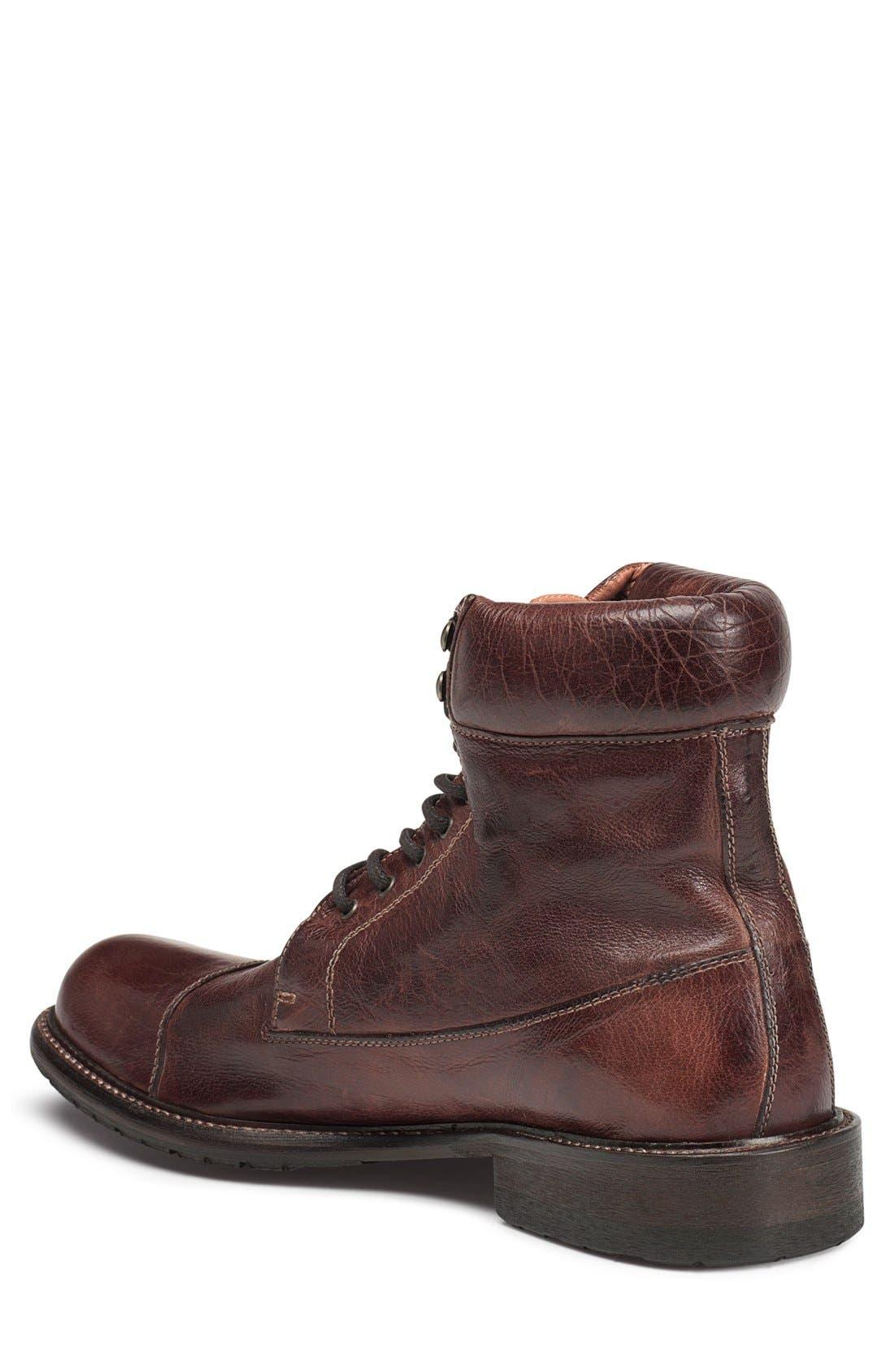 'Ronan' Cap Toe Boot,                             Alternate thumbnail 4, color,