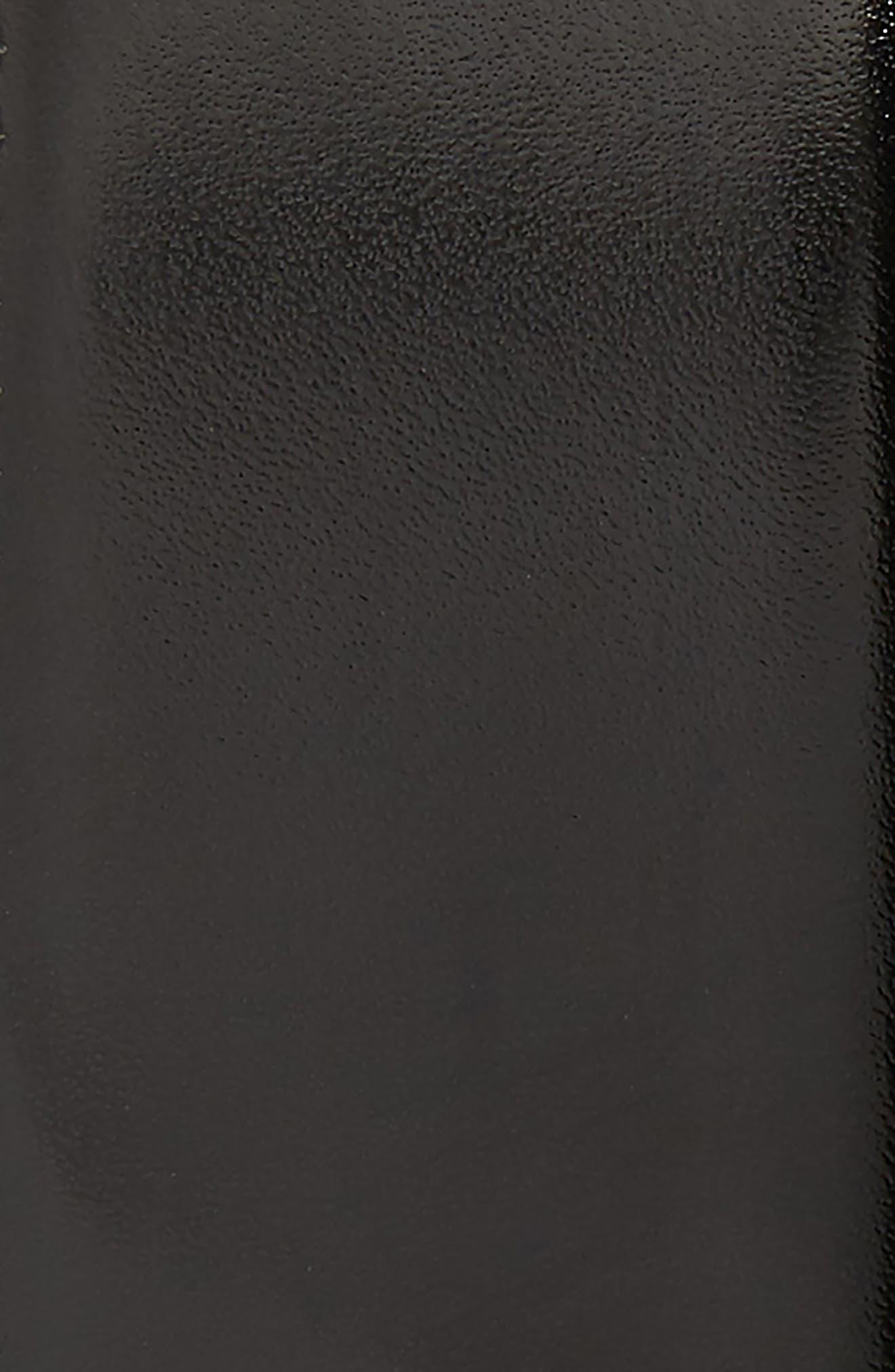 Basic Smooth Leather Belt,                             Alternate thumbnail 2, color,                             BLACK
