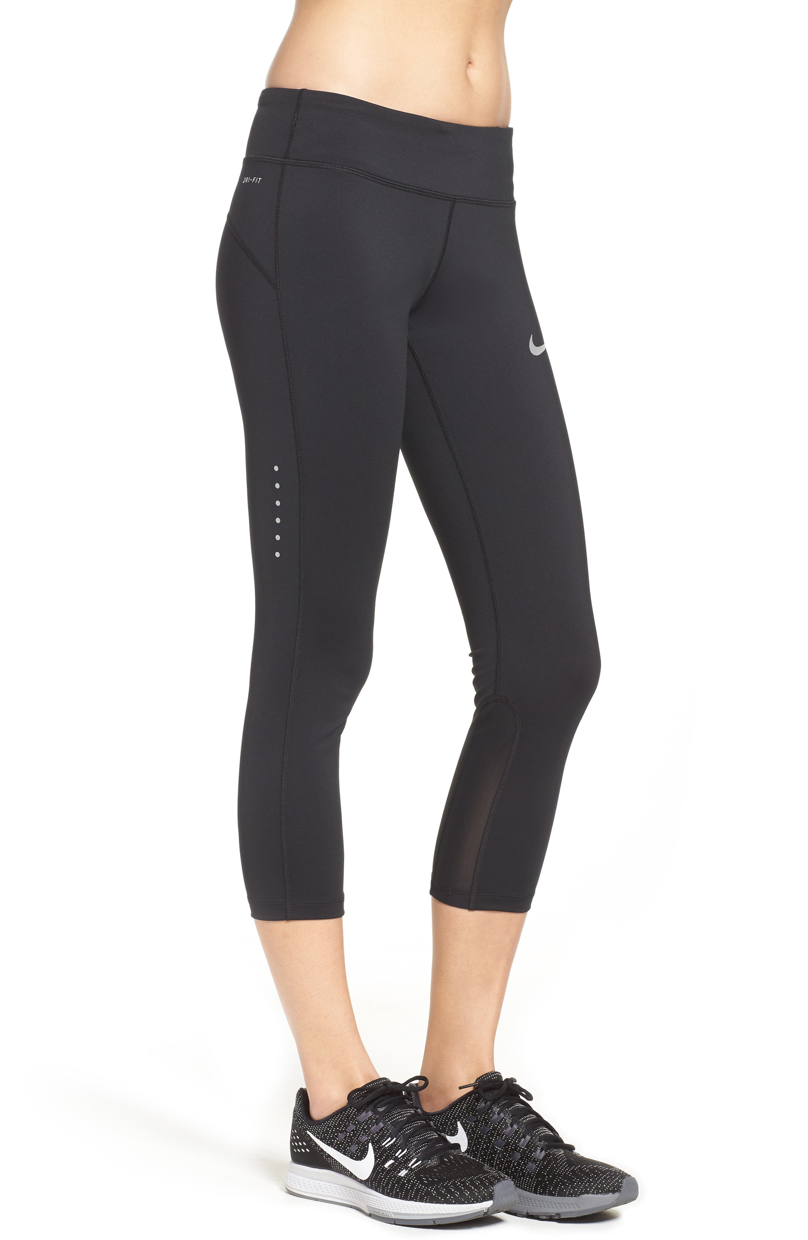 Power Epic Run Crop Tights,                             Alternate thumbnail 16, color,