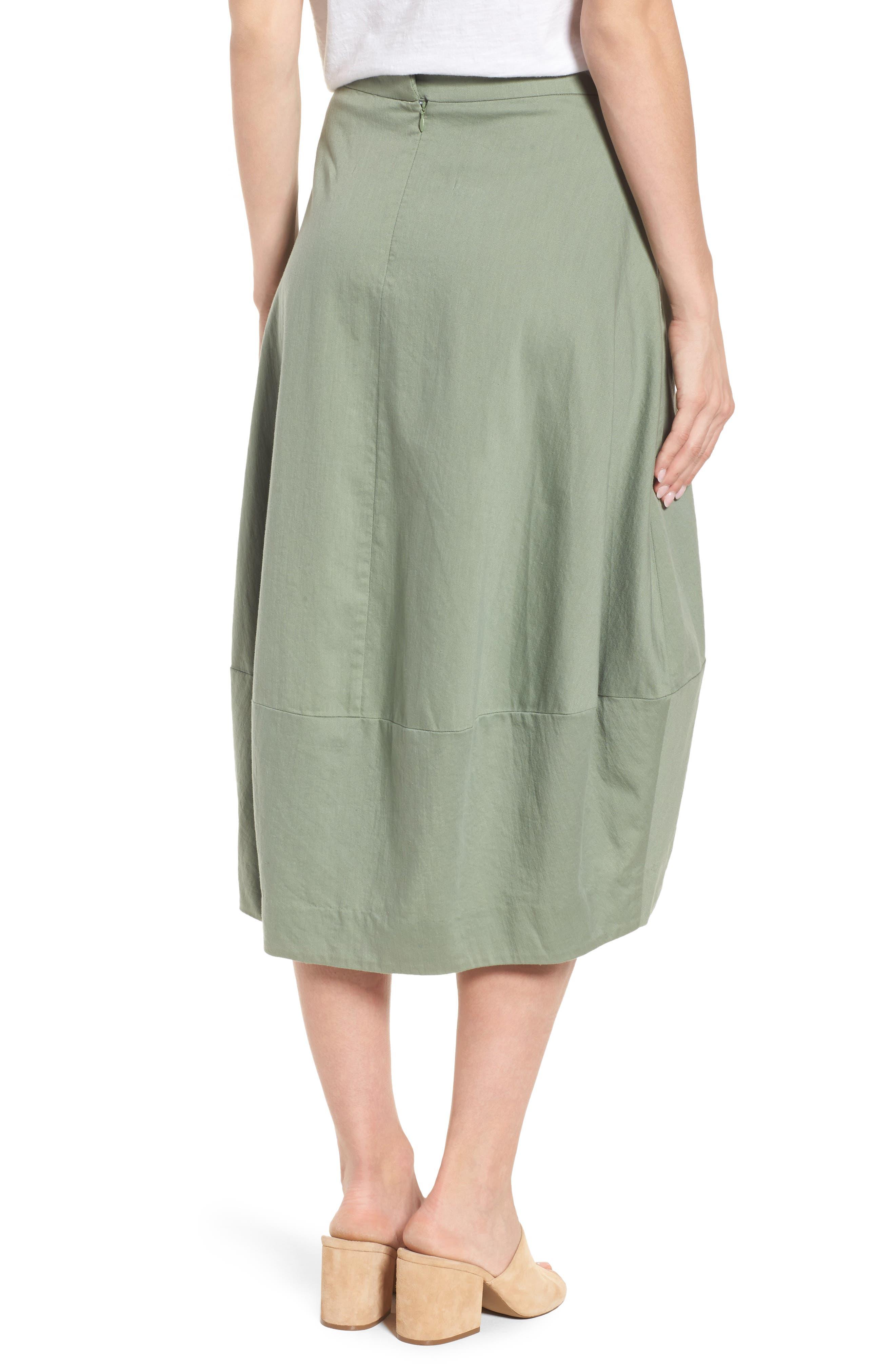 Organic Cotton Lantern Skirt,                             Alternate thumbnail 6, color,