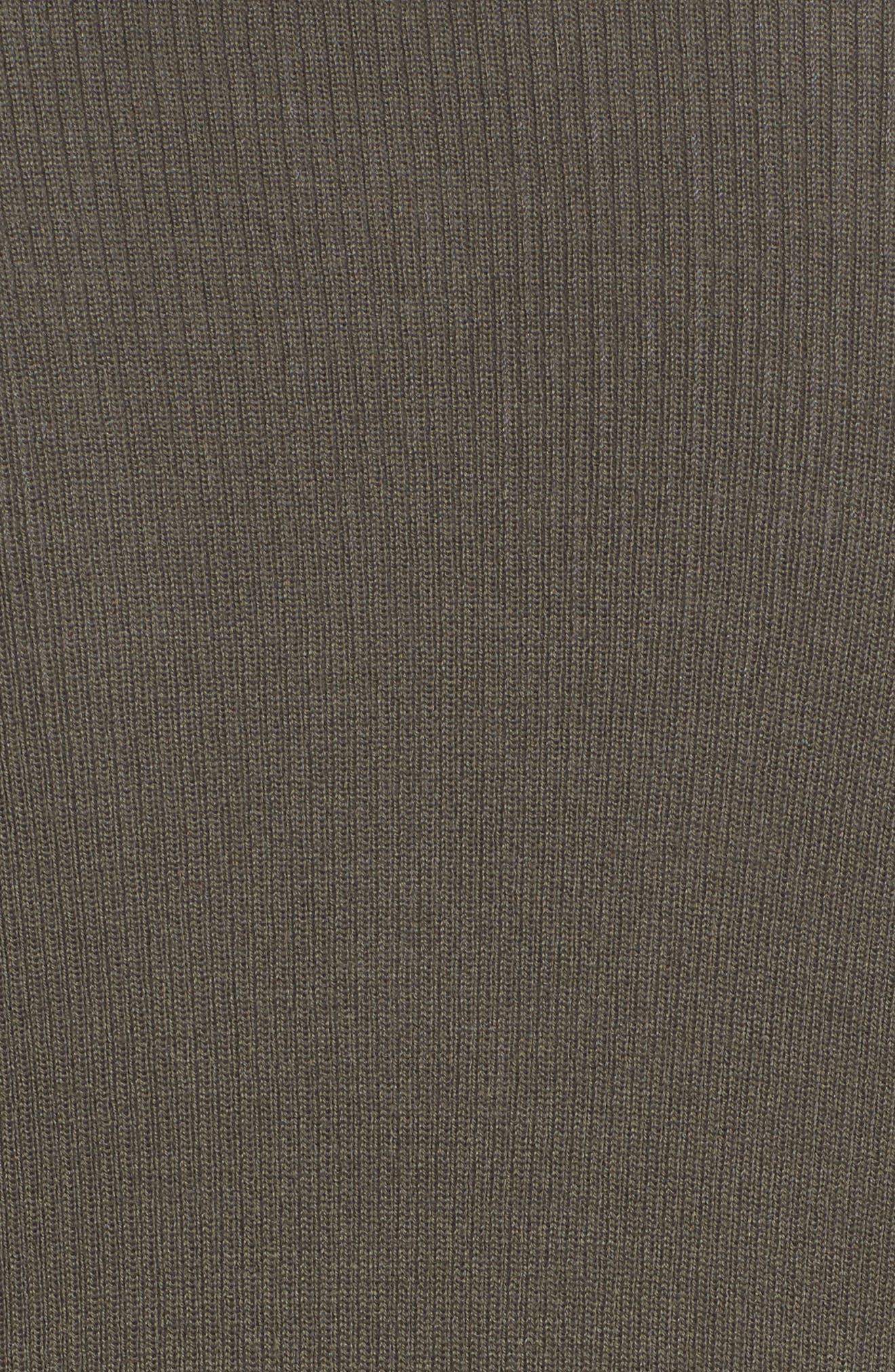 Rib Knit Wool Blend Cardigan,                             Alternate thumbnail 88, color,