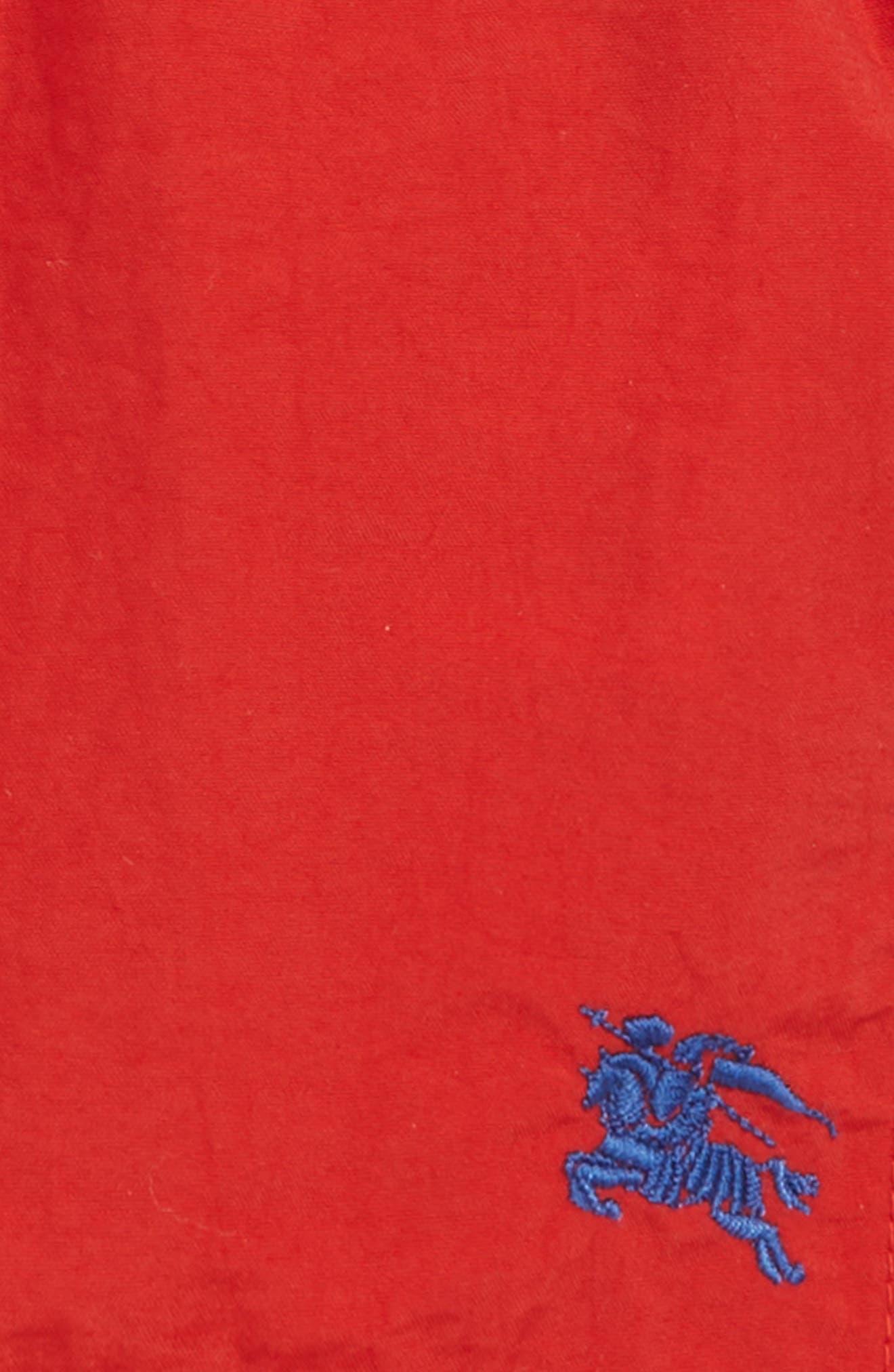 Galvin Swim Trunks,                             Alternate thumbnail 2, color,                             MILITARY RED