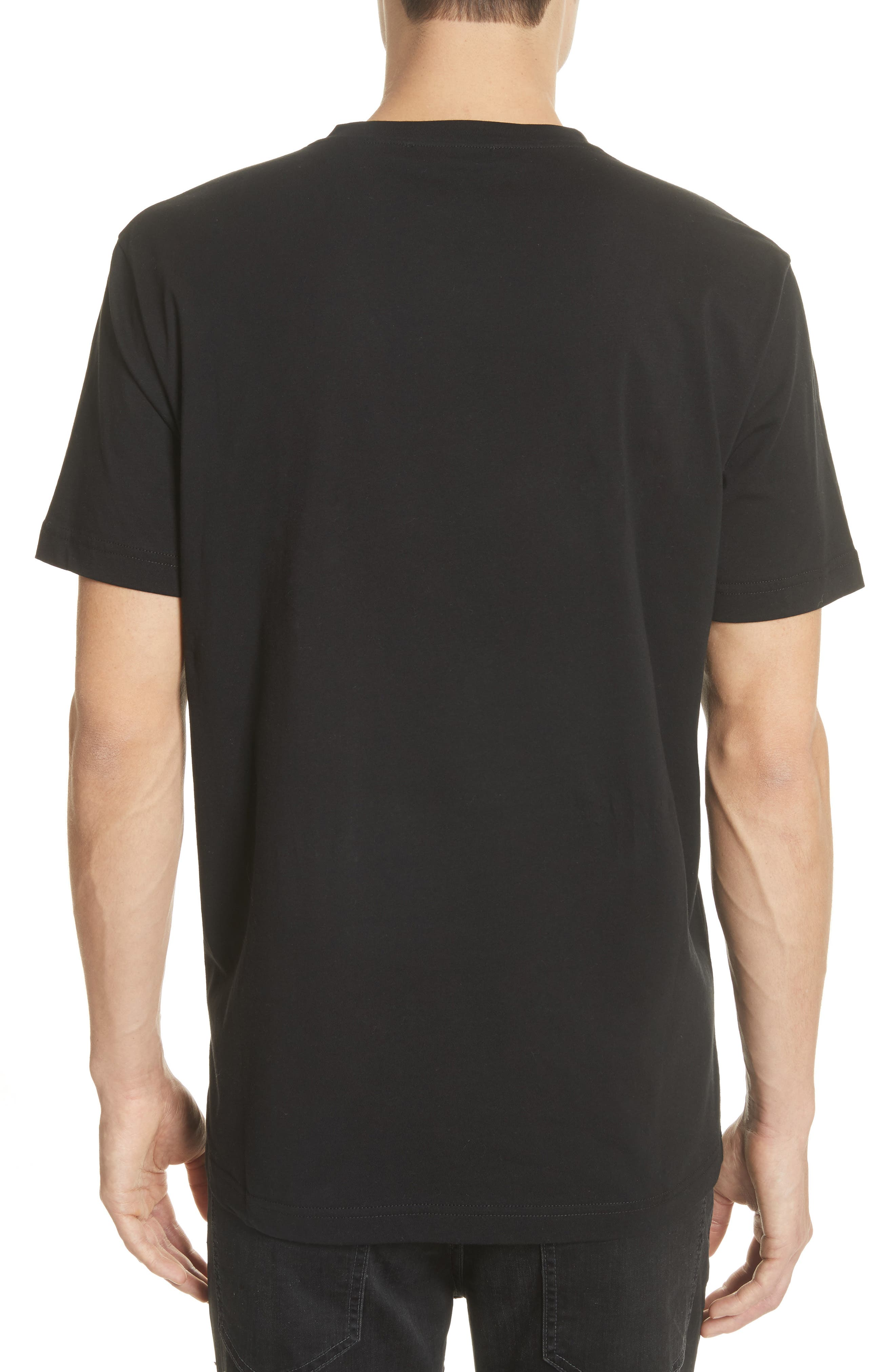 Embroidered Tiger T-Shirt,                             Alternate thumbnail 2, color,                             001