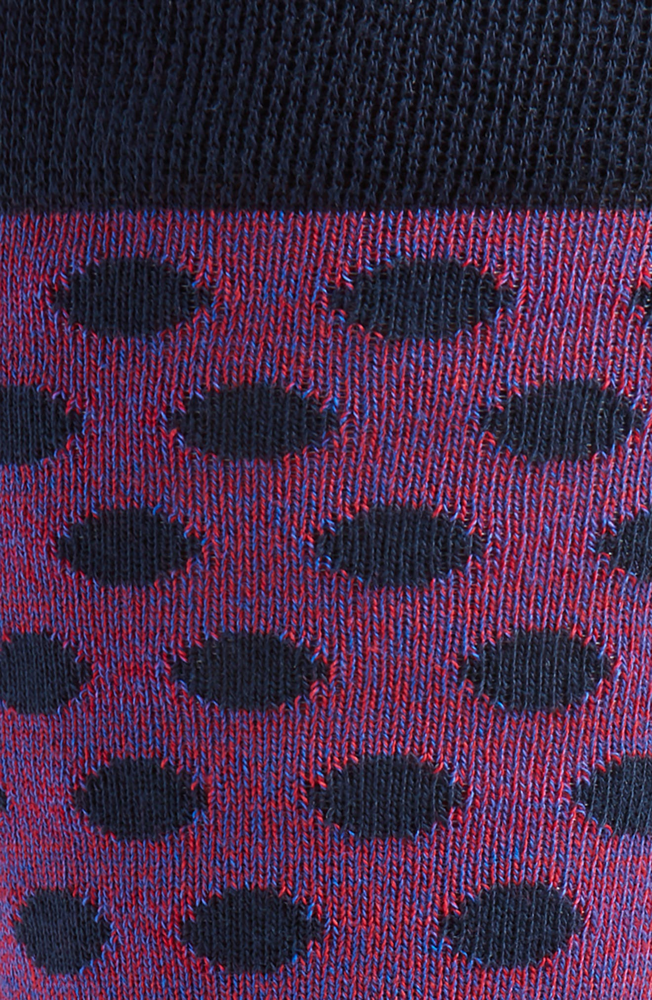 Spot Socks,                             Alternate thumbnail 2, color,                             NAVY