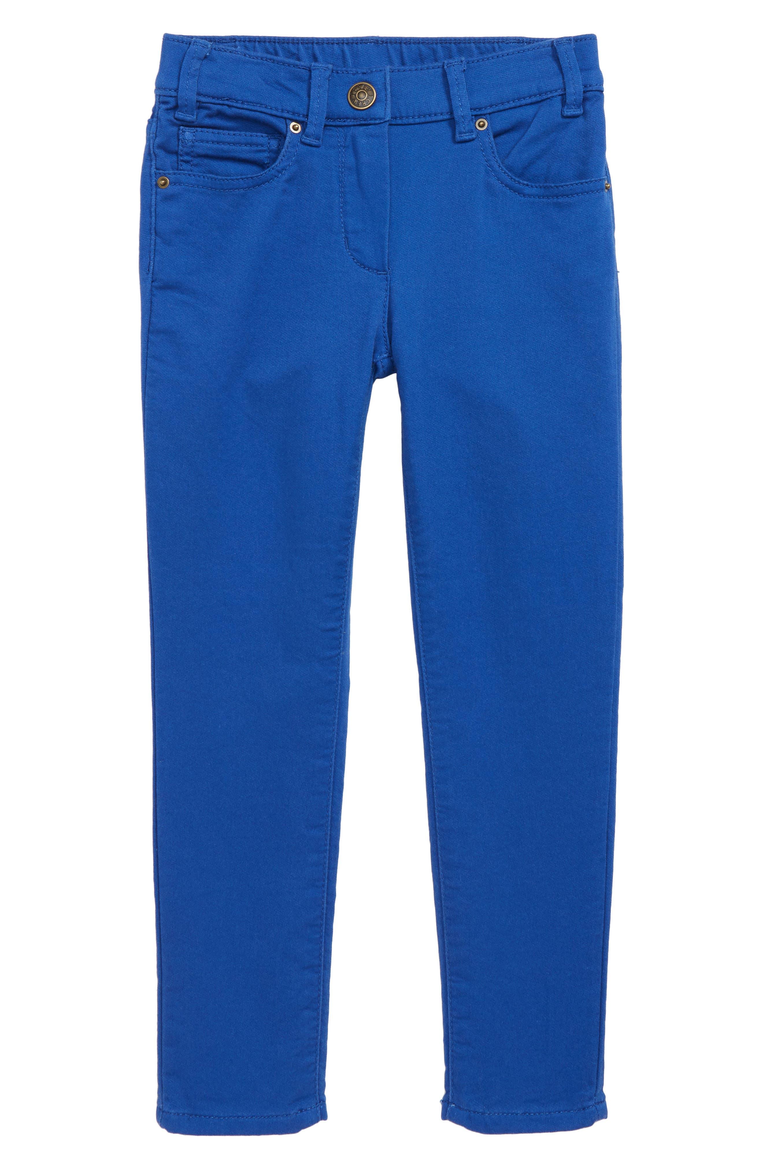 Runaround Garment Dye Jeans,                             Main thumbnail 1, color,                             LAGOON BLUE