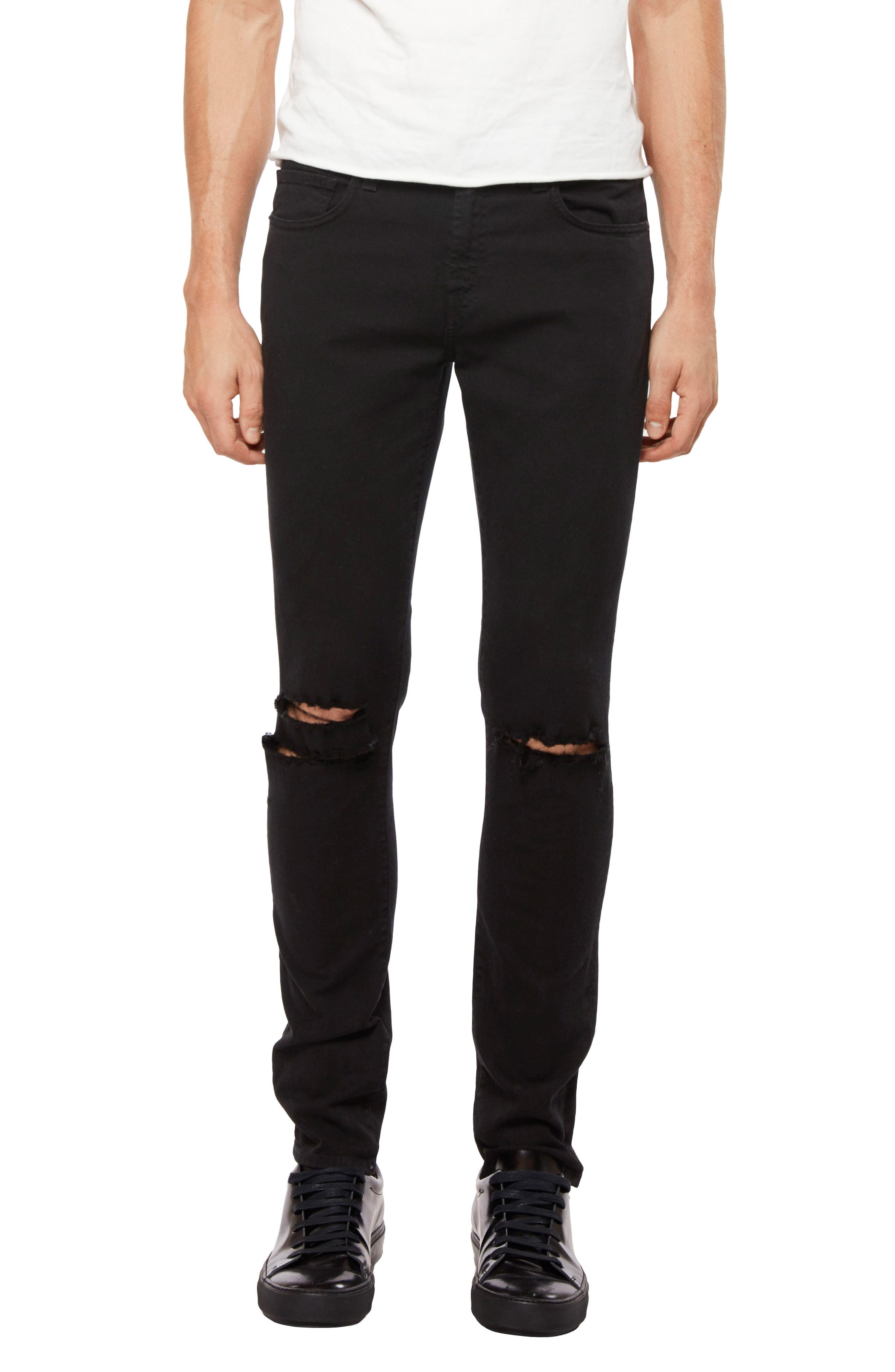 Mick Skinny Fit Jeans,                             Main thumbnail 1, color,                             LINCOLN OAK