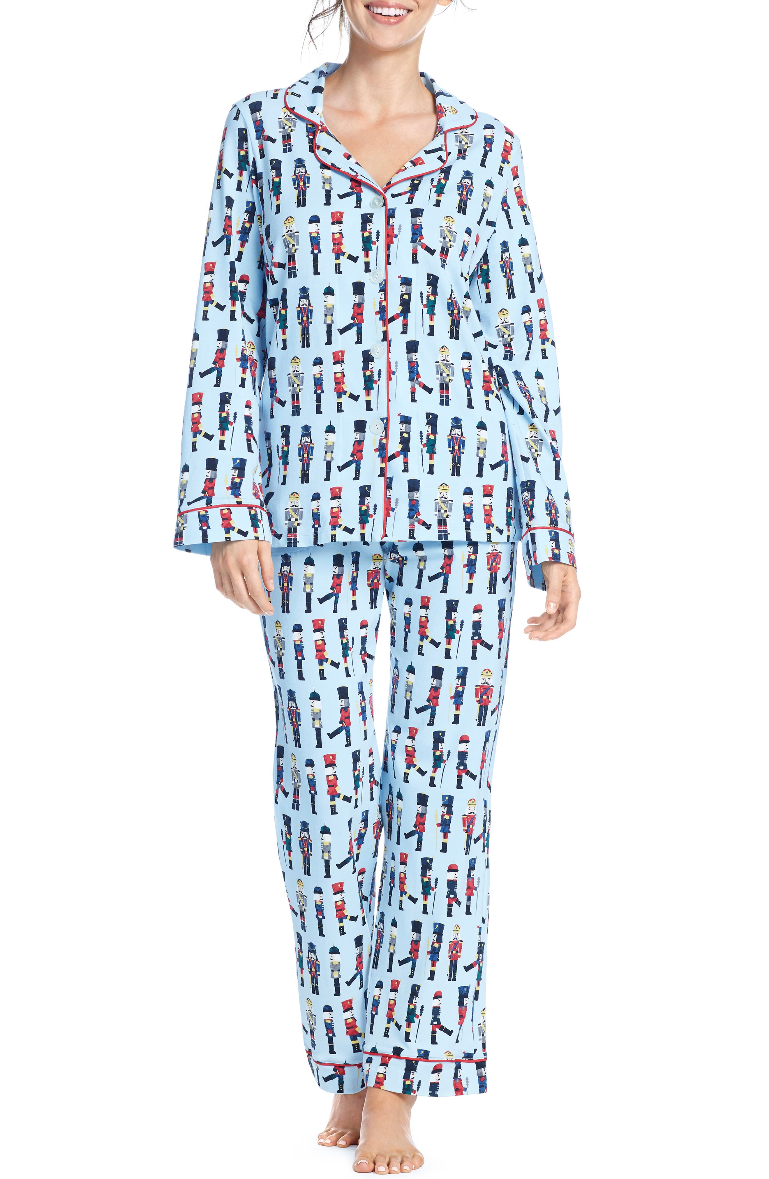 BEDHEAD Classic Print Pajamas in March On