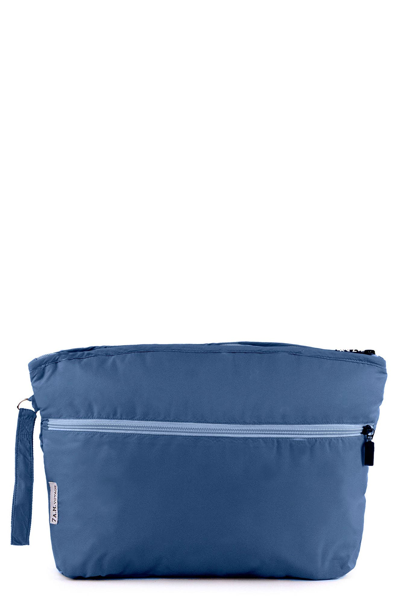 Small Water Repellent Clutch,                         Main,                         color, MIDNIGHT