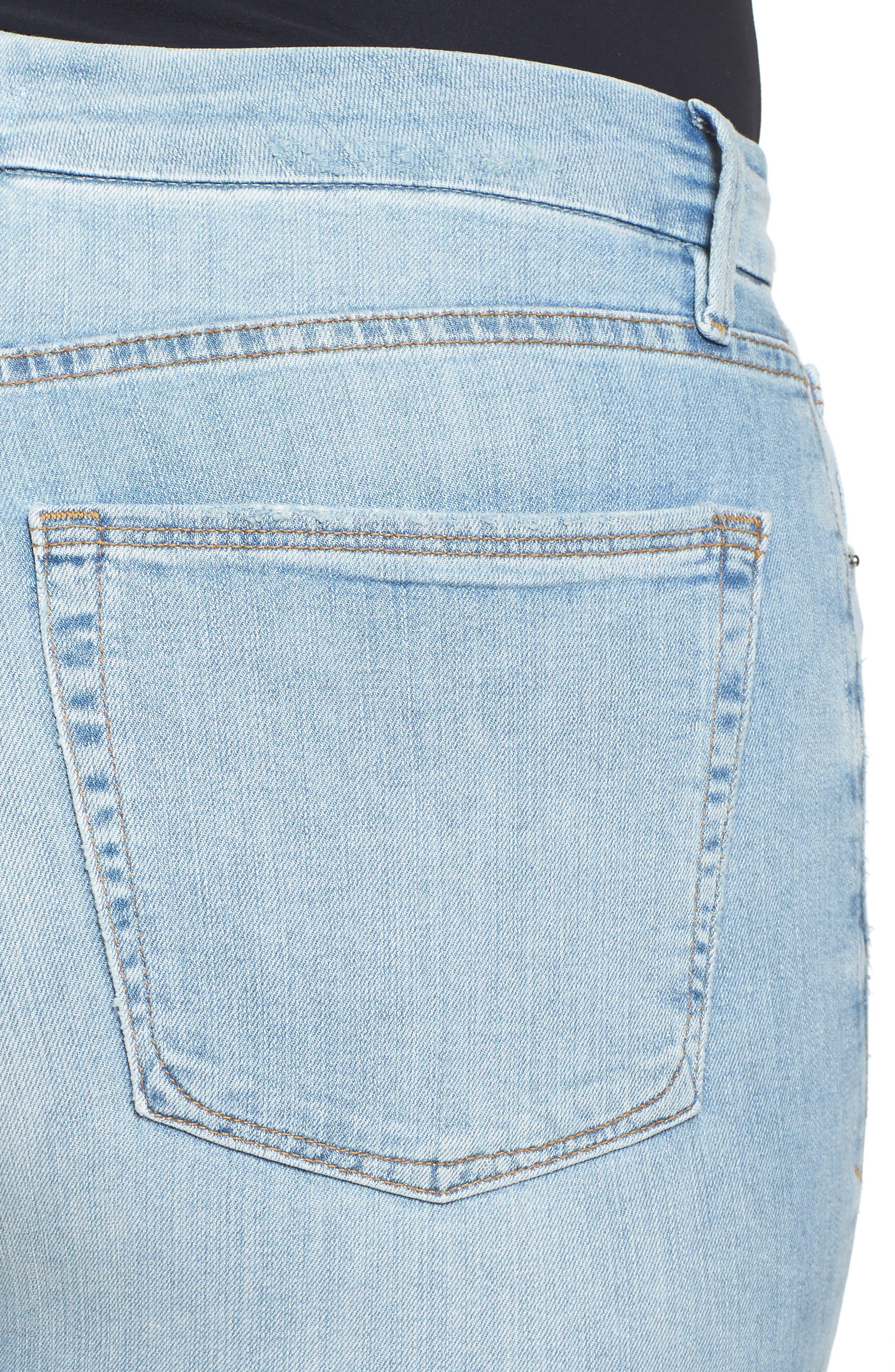 Good Waist High Rise Skinny Jeans,                             Alternate thumbnail 4, color,                             401