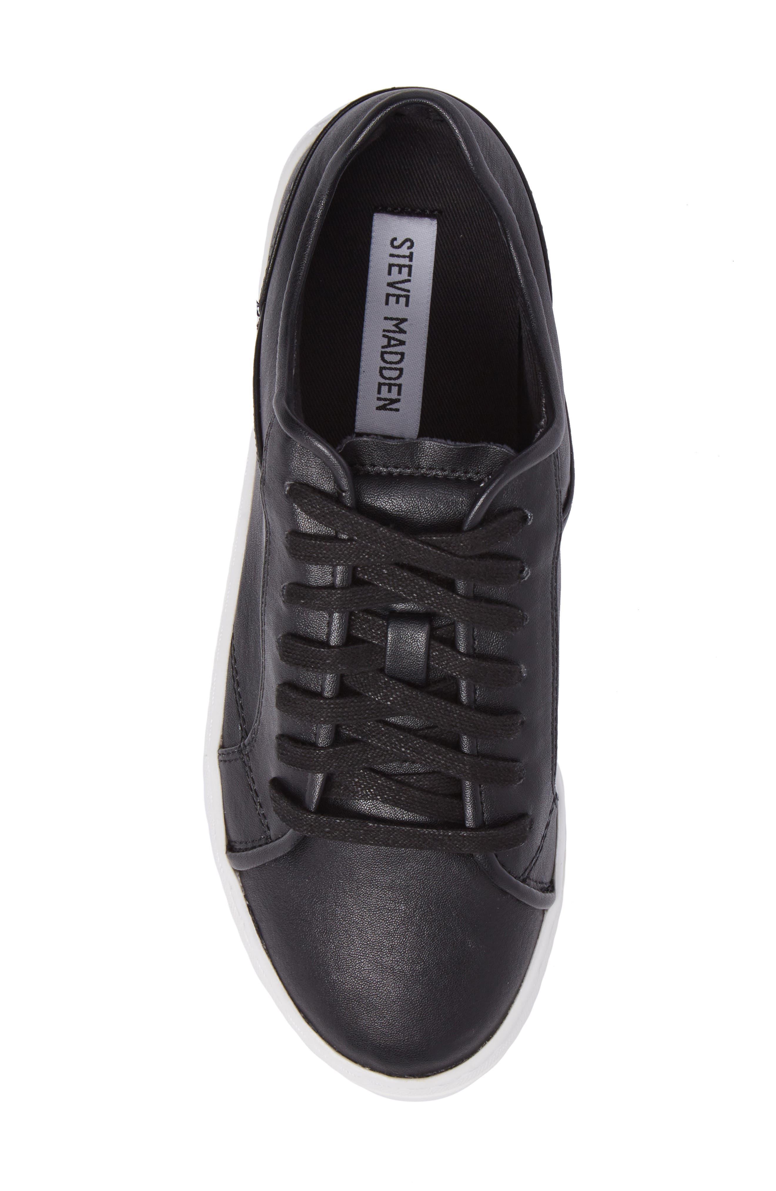 Kickstart Platform Sneaker,                             Alternate thumbnail 5, color,                             001