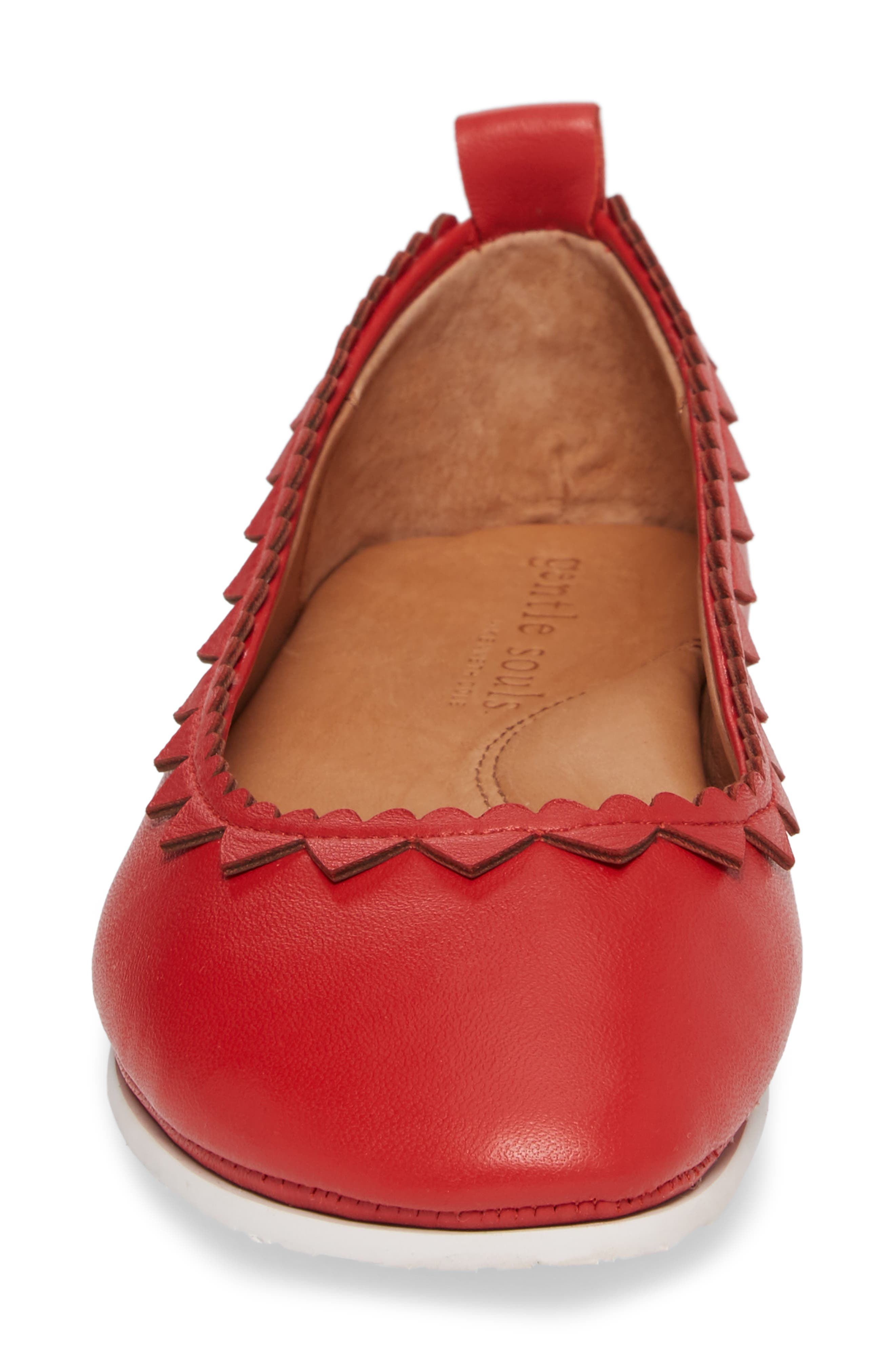 by Kenneth Cole Dana Hearts Flat,                             Alternate thumbnail 4, color,                             600
