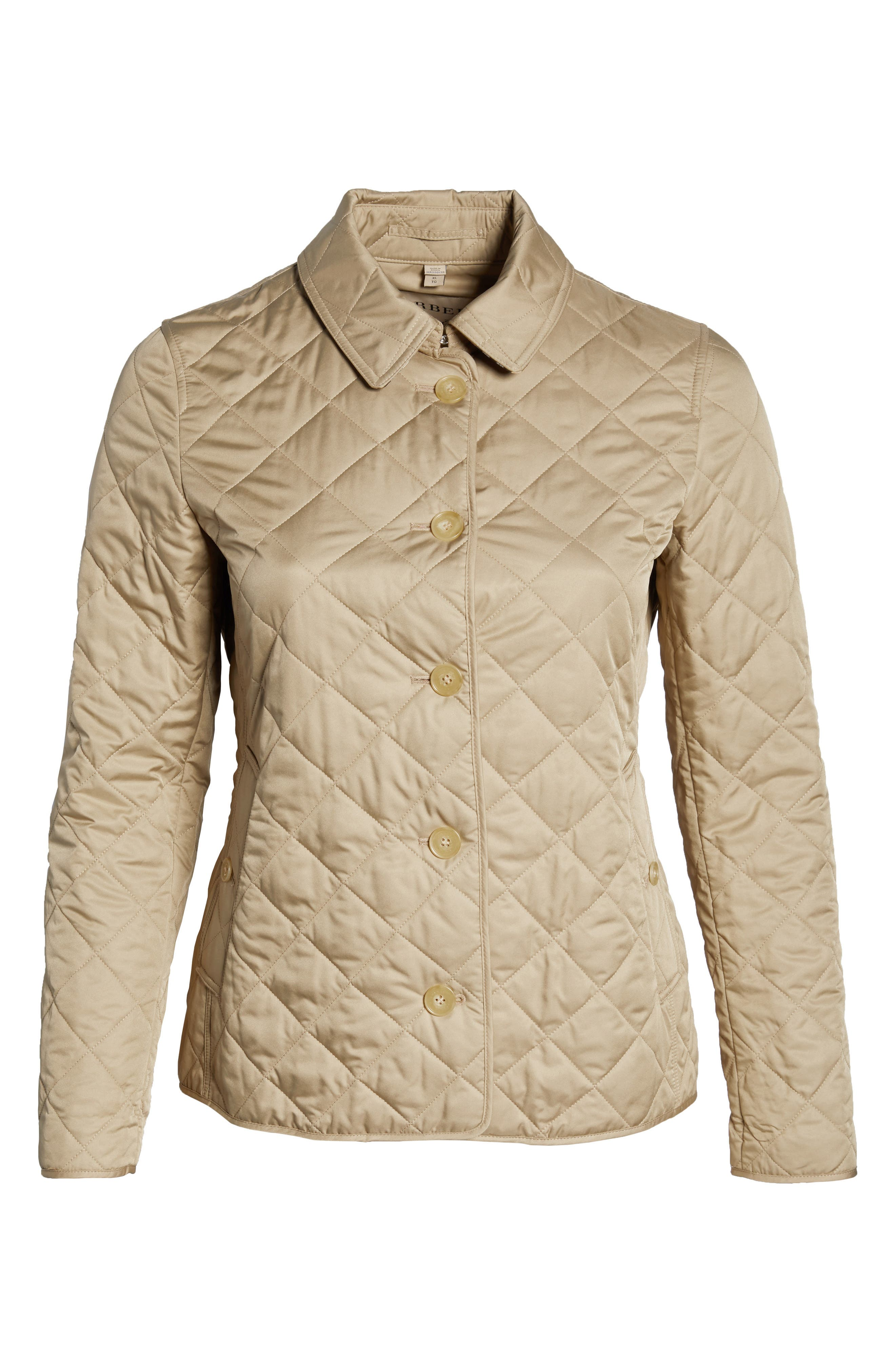 Frankby 18 Quilted Jacket,                             Alternate thumbnail 10, color,                             CANVAS