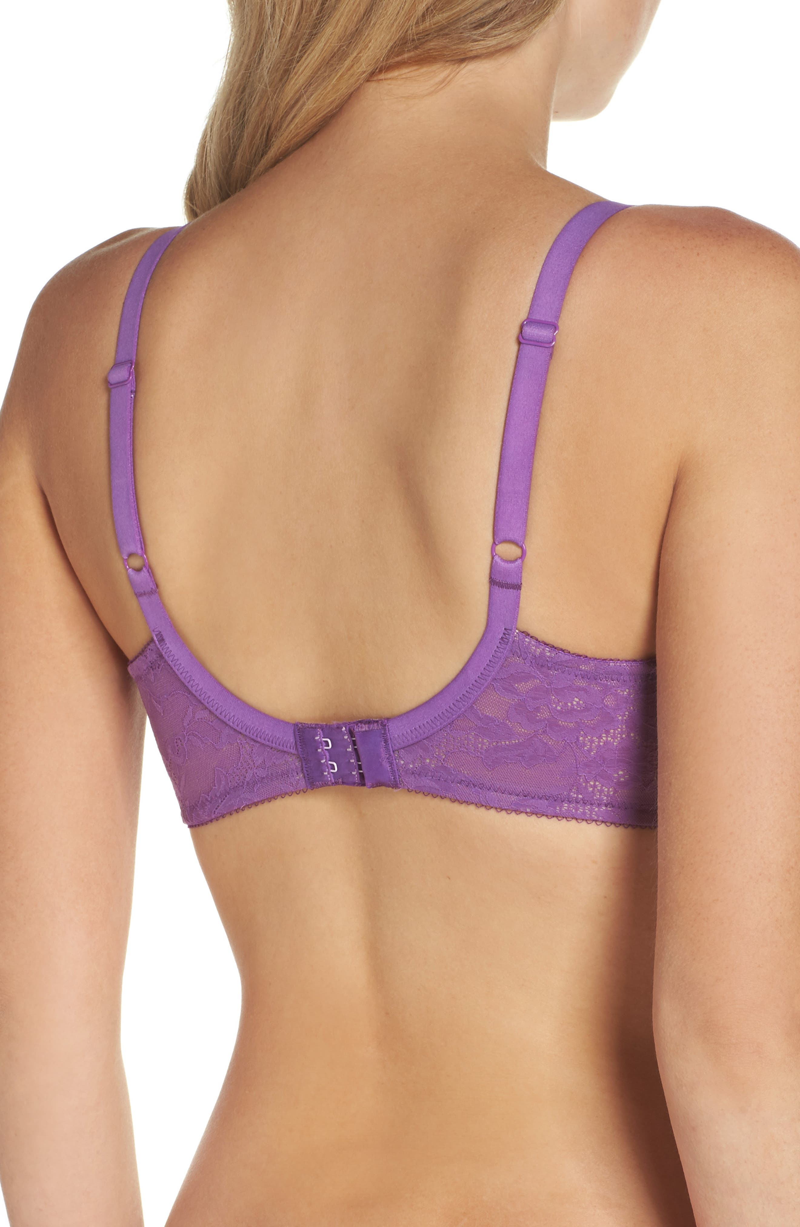 Finesse Molded Underwire T-Shirt Bra,                             Alternate thumbnail 30, color,