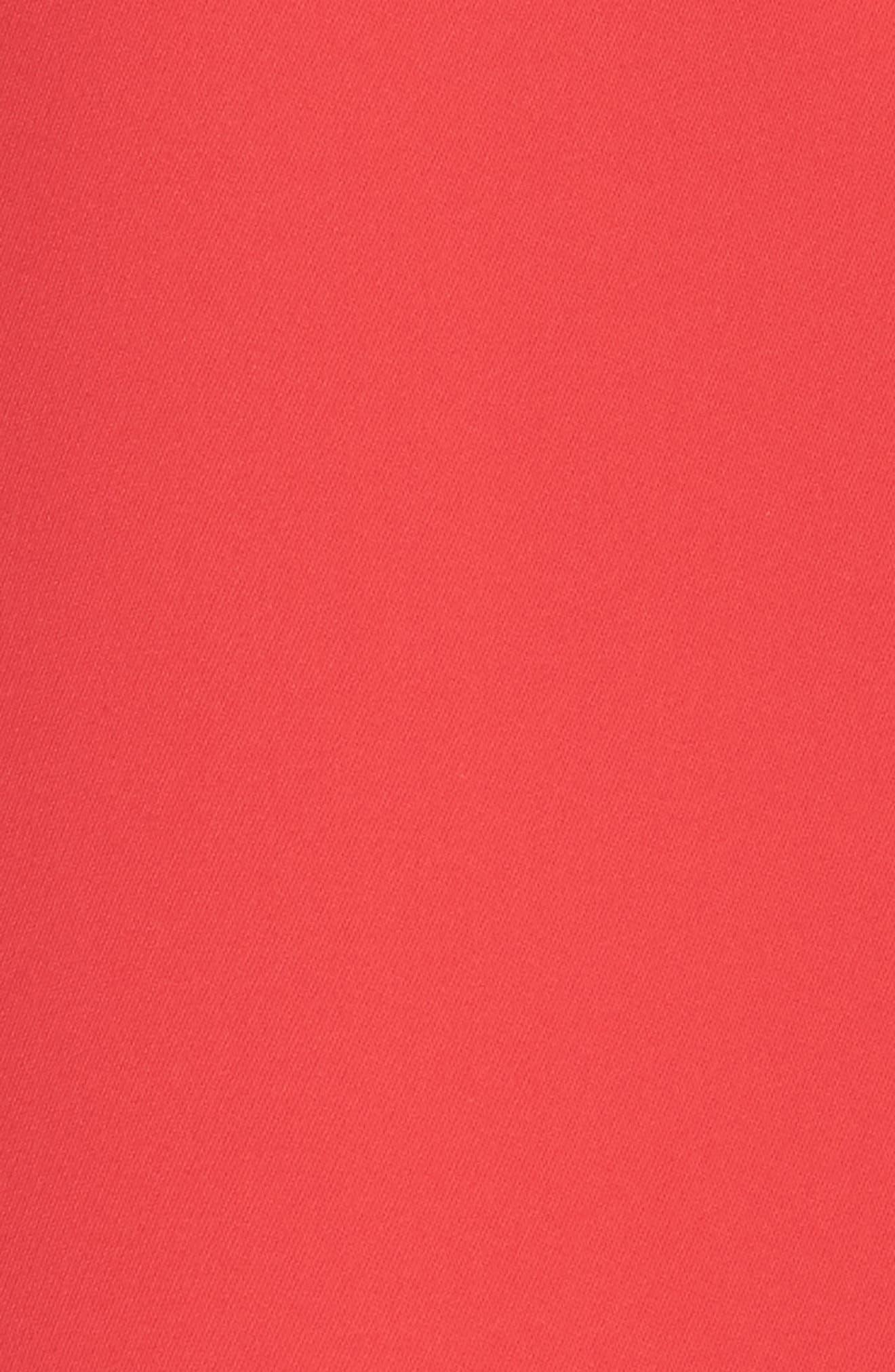 Ruffle Midi Dress,                             Alternate thumbnail 5, color,                             610