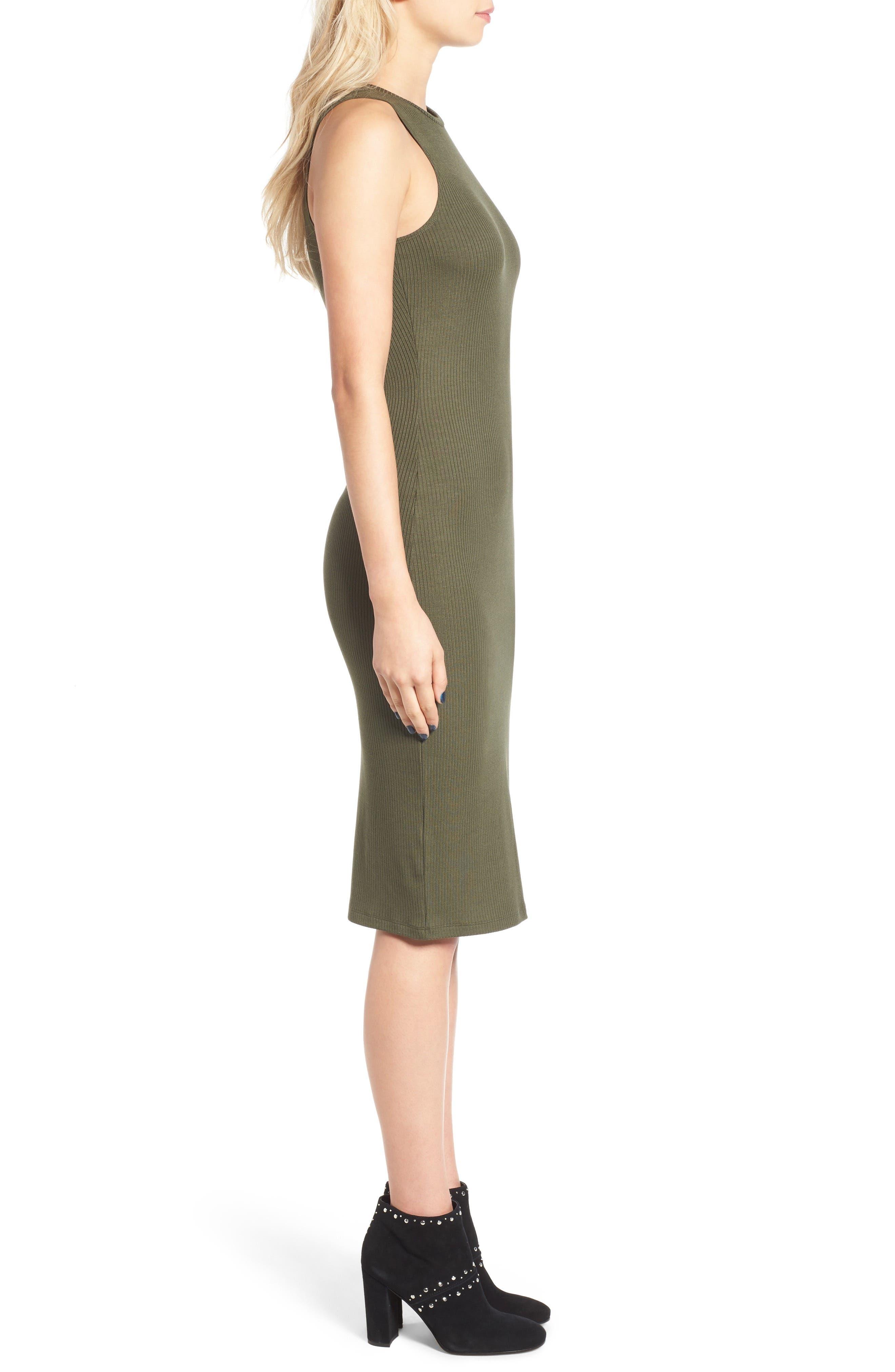 Rib Tank Dress,                             Alternate thumbnail 9, color,