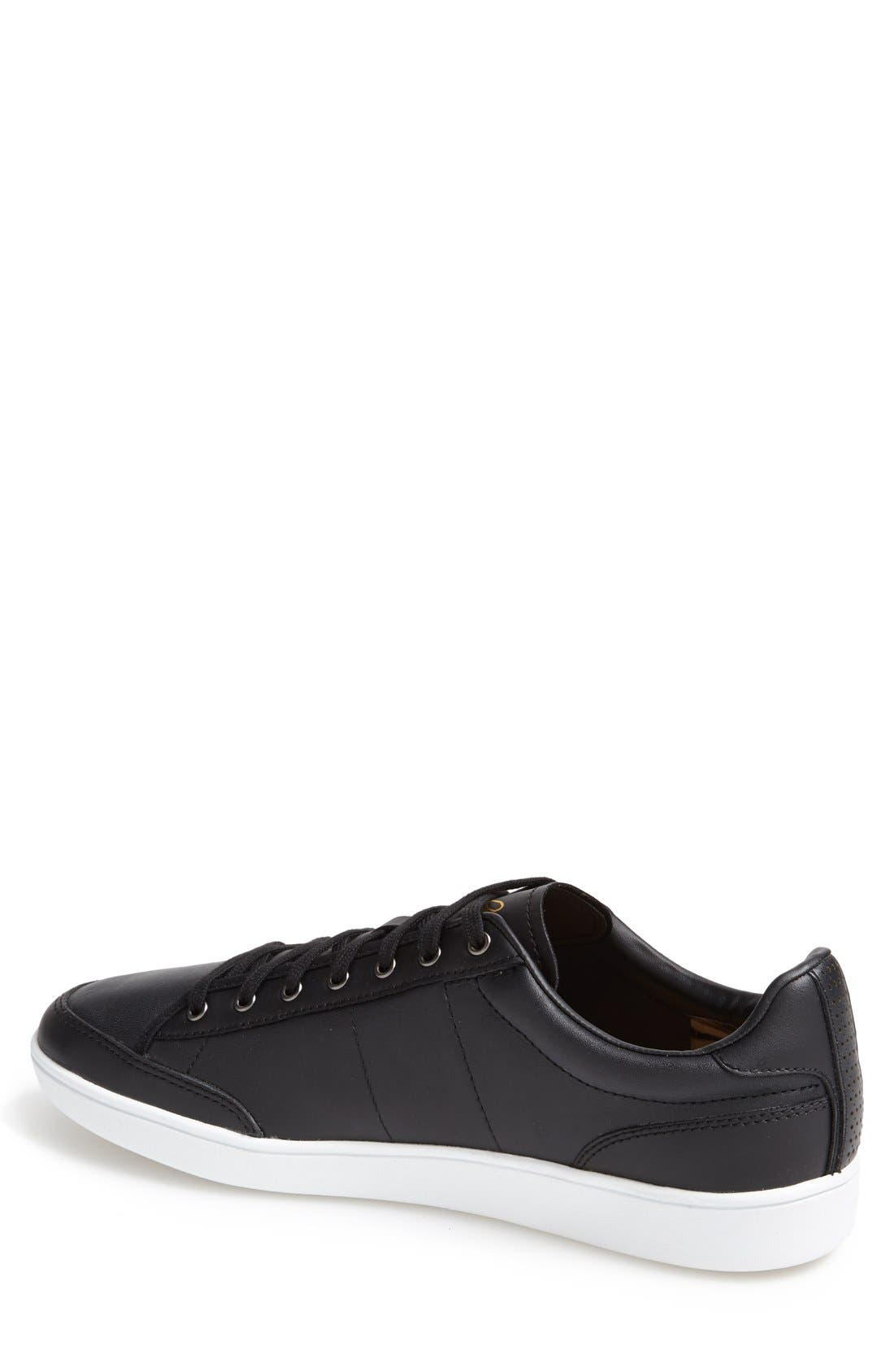 FRED PERRY,                             'Hopman' Sneaker,                             Alternate thumbnail 4, color,                             001