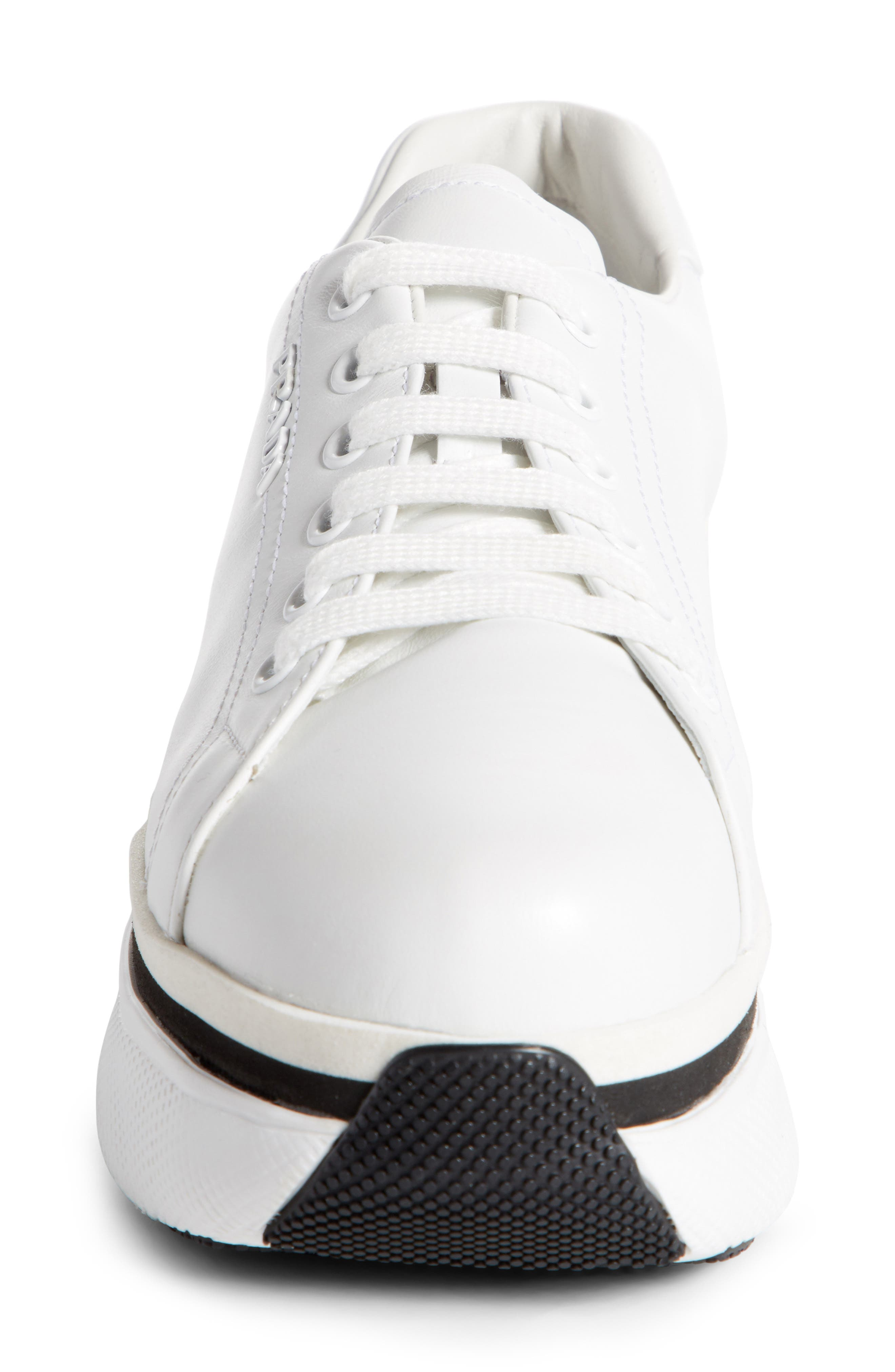 Platform Lace-Up Sneaker,                             Alternate thumbnail 8, color,